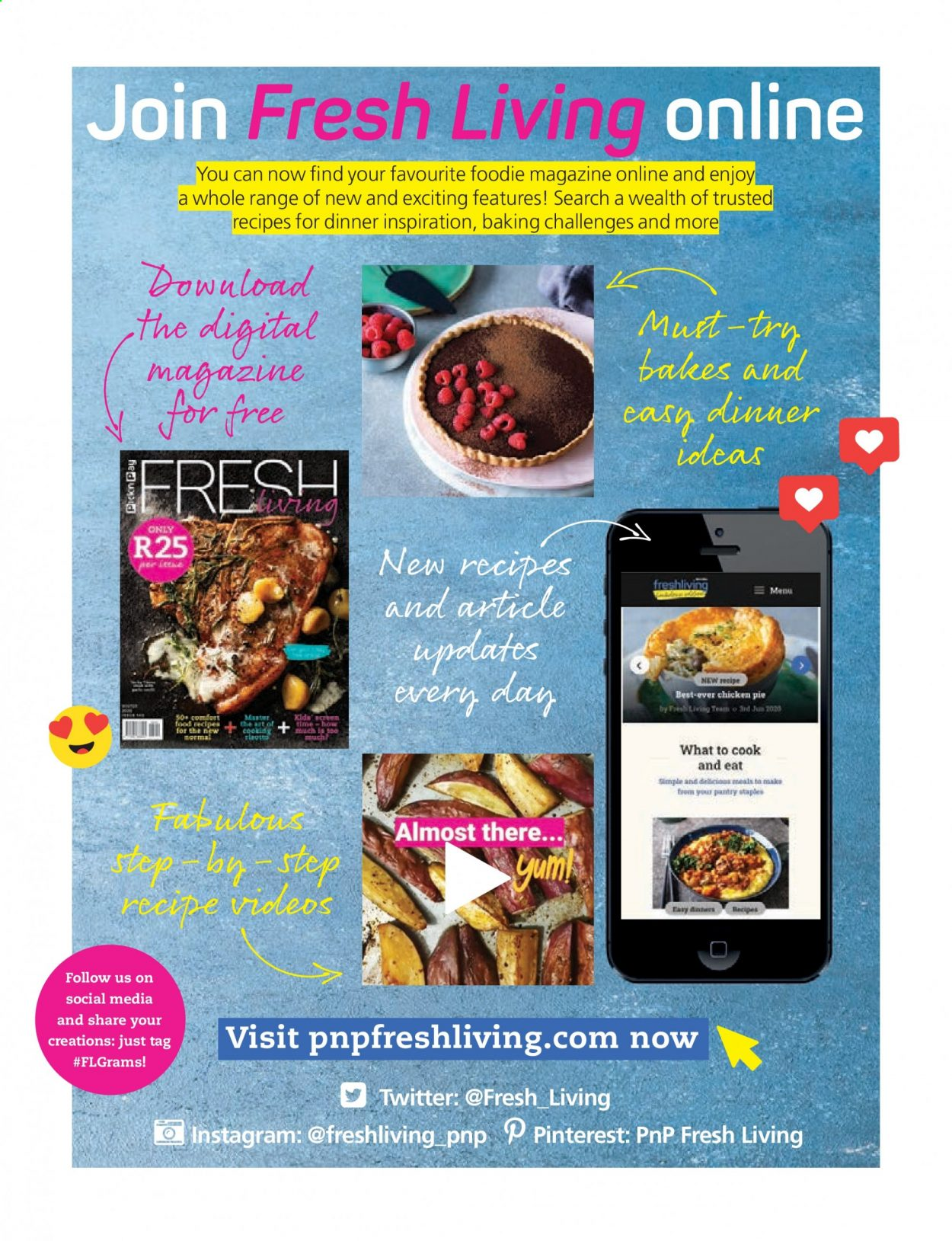 Pick n Pay catalogue . Page 52.
