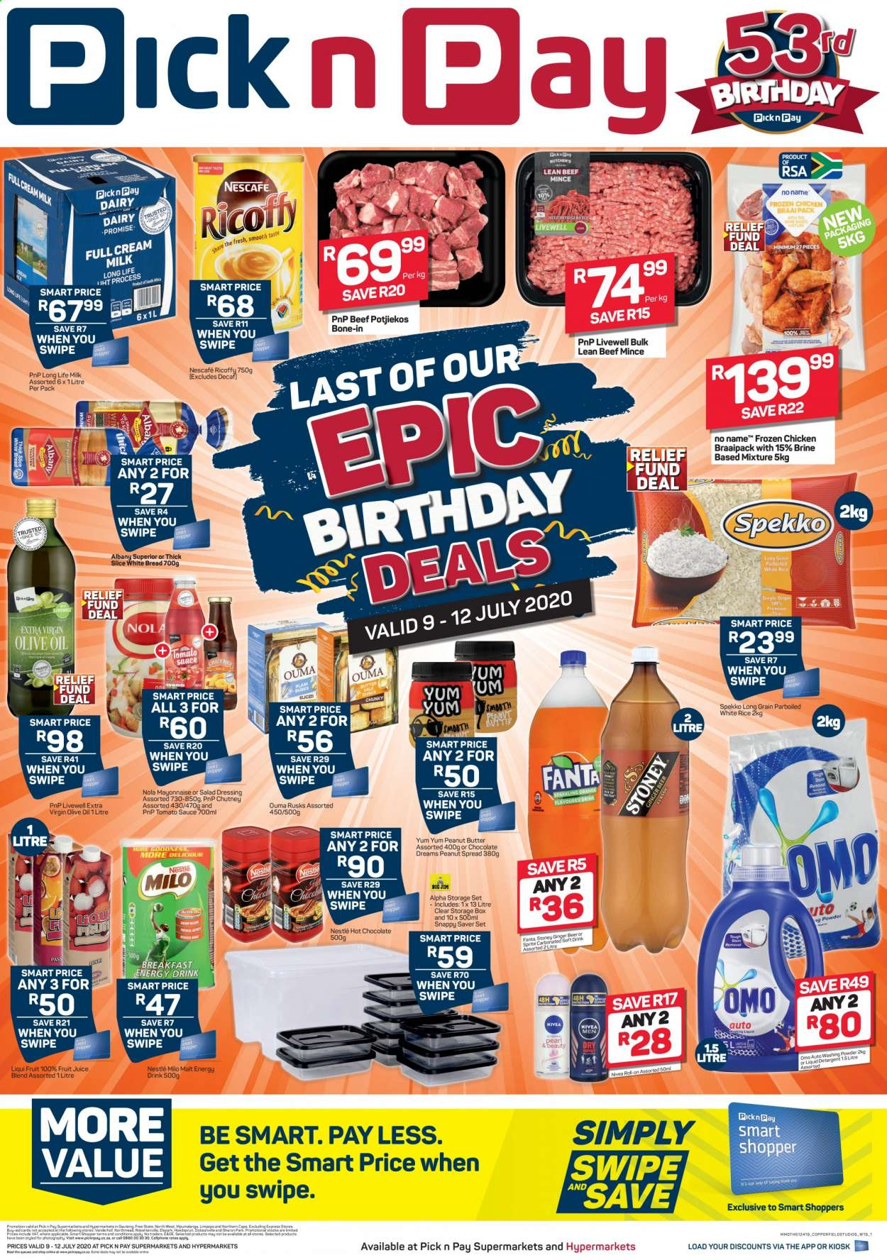 Pick n Pay catalogue  - 07.09.2020 - 07.12.2020. Page 1.