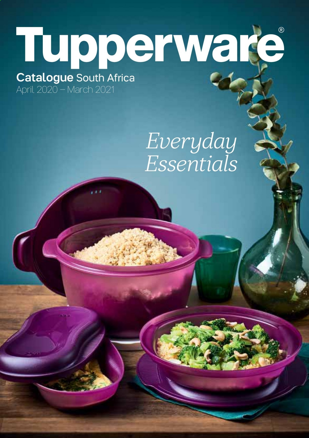 Tupperware catalogue . Page 1.