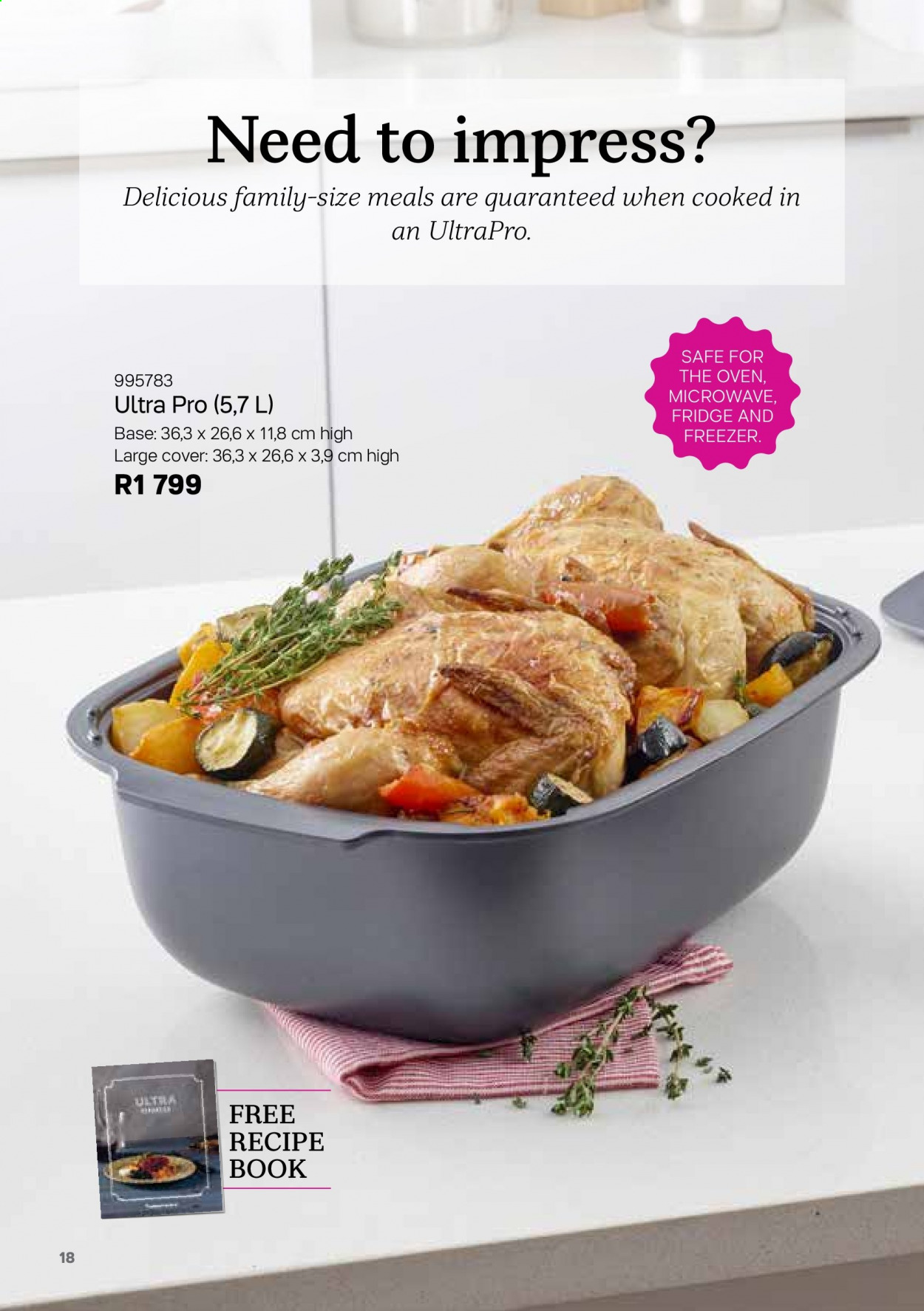 Tupperware catalogue . Page 18.