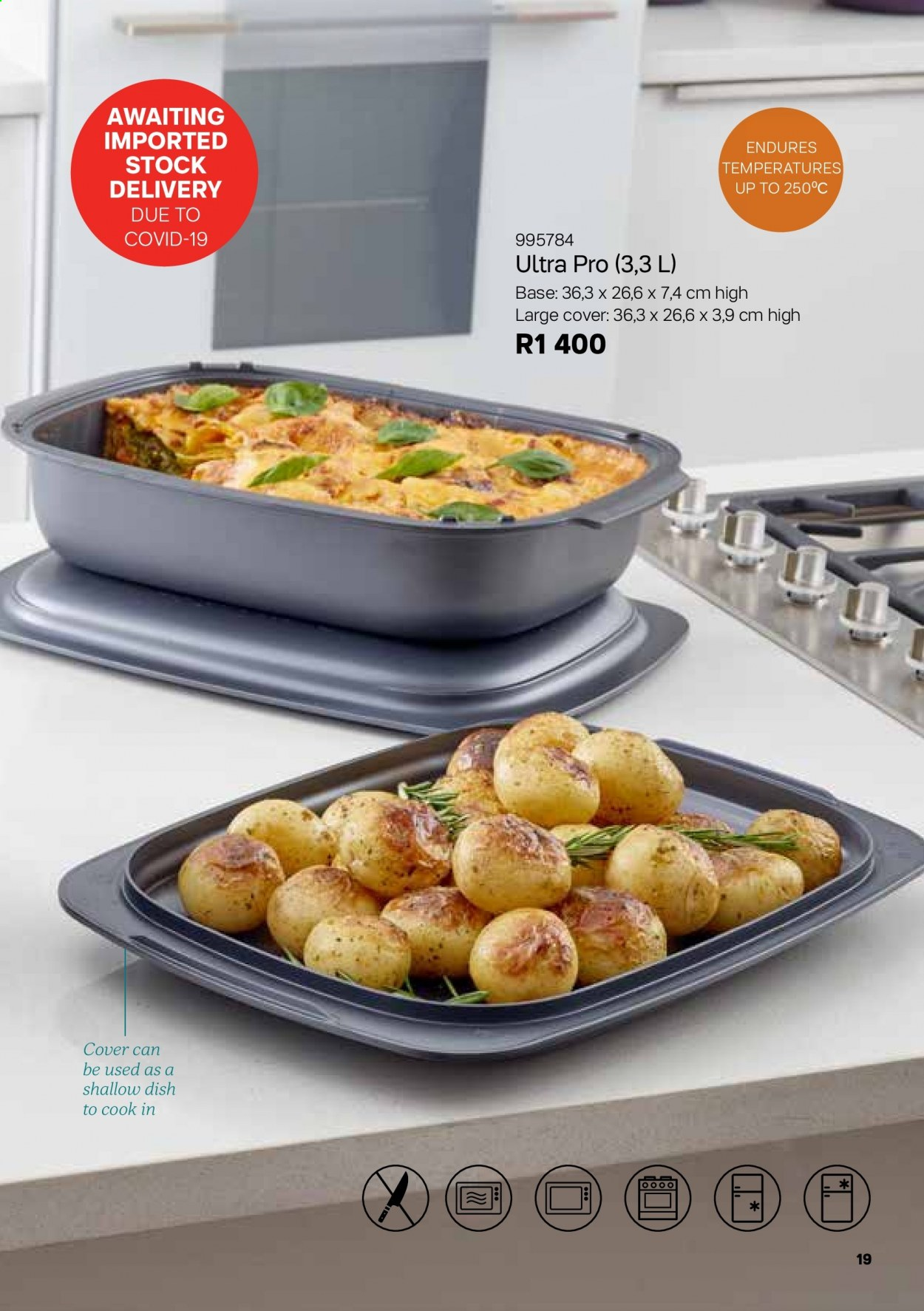 Tupperware catalogue . Page 19.