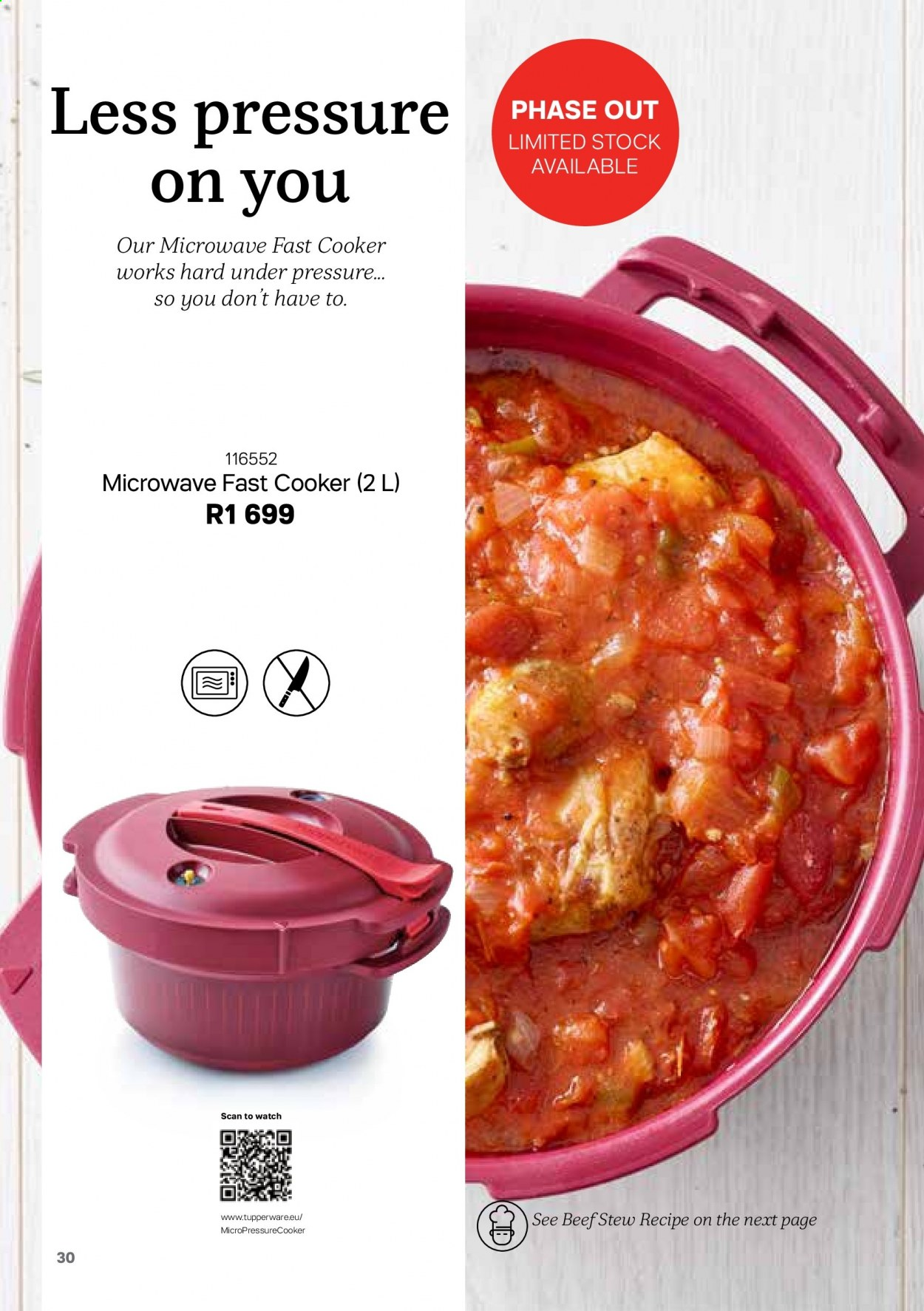 Tupperware catalogue . Page 30.