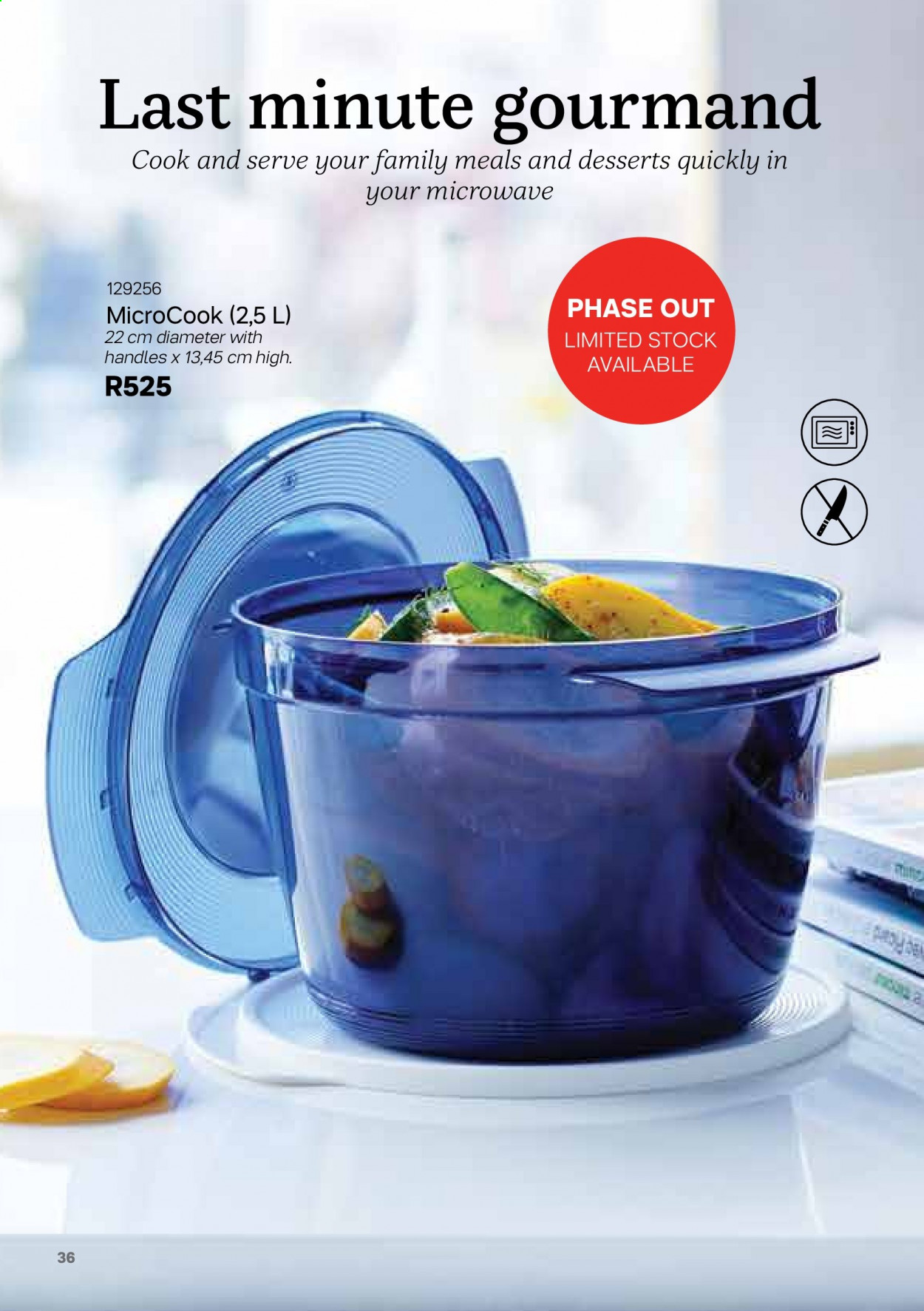 Tupperware catalogue . Page 36.