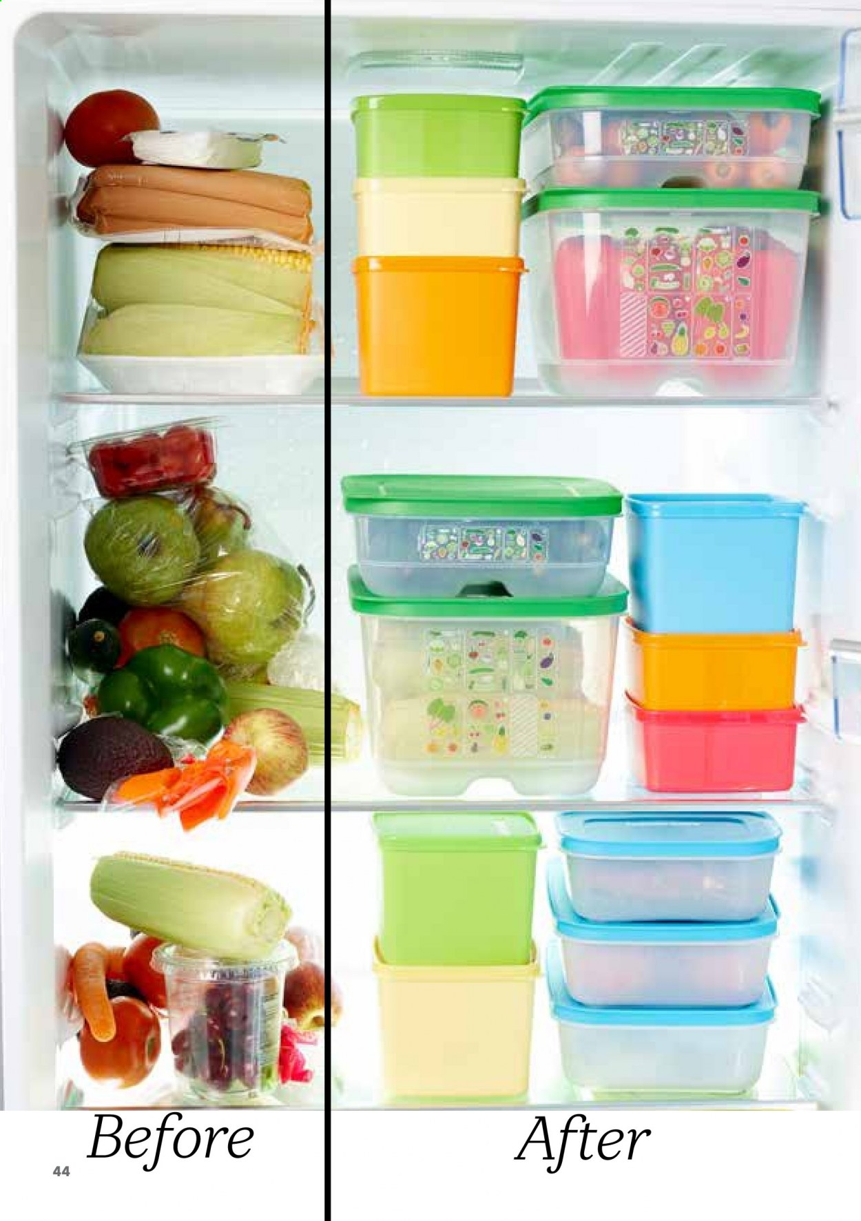 Tupperware catalogue . Page 44.