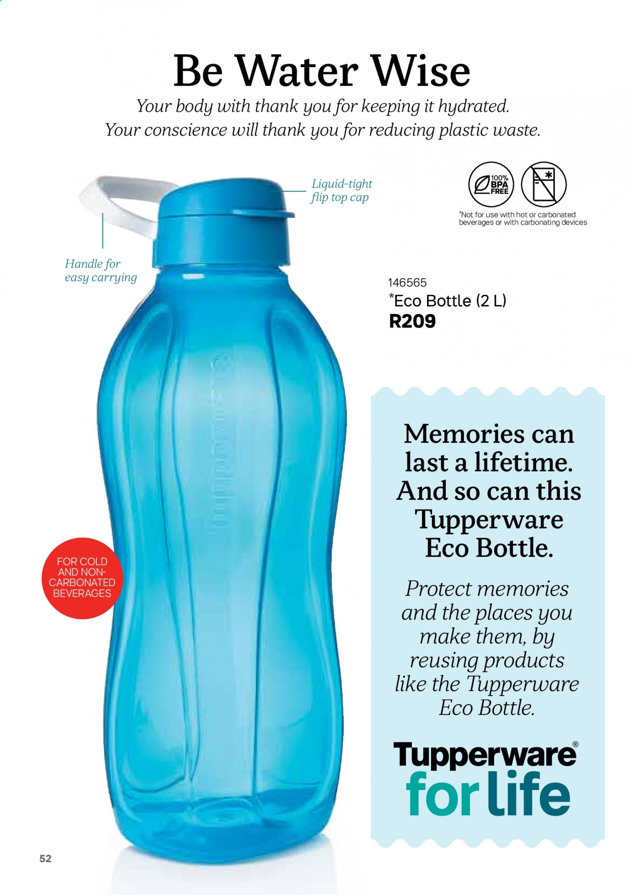 Tupperware catalogue . Page 52.