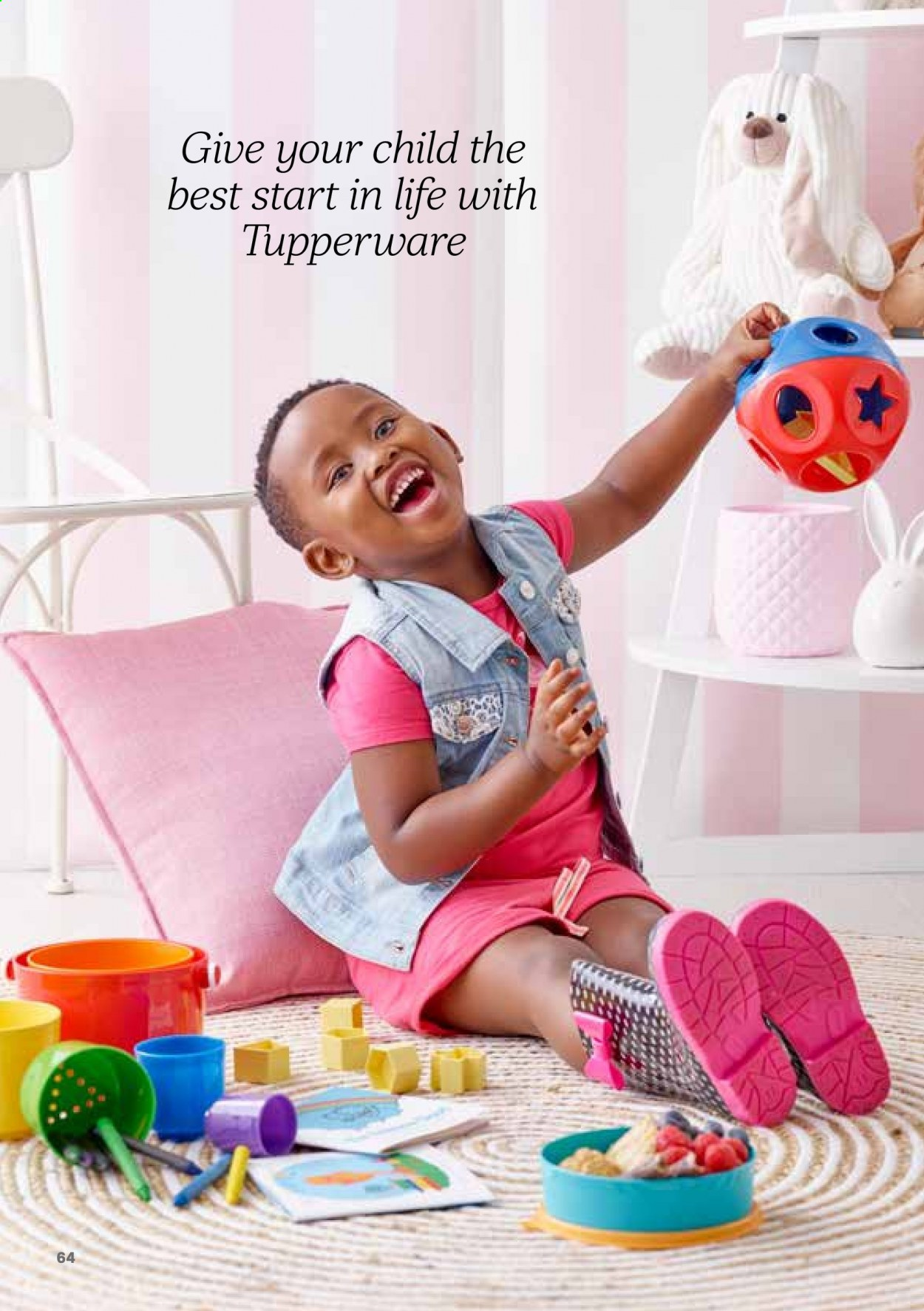 Tupperware catalogue . Page 64.