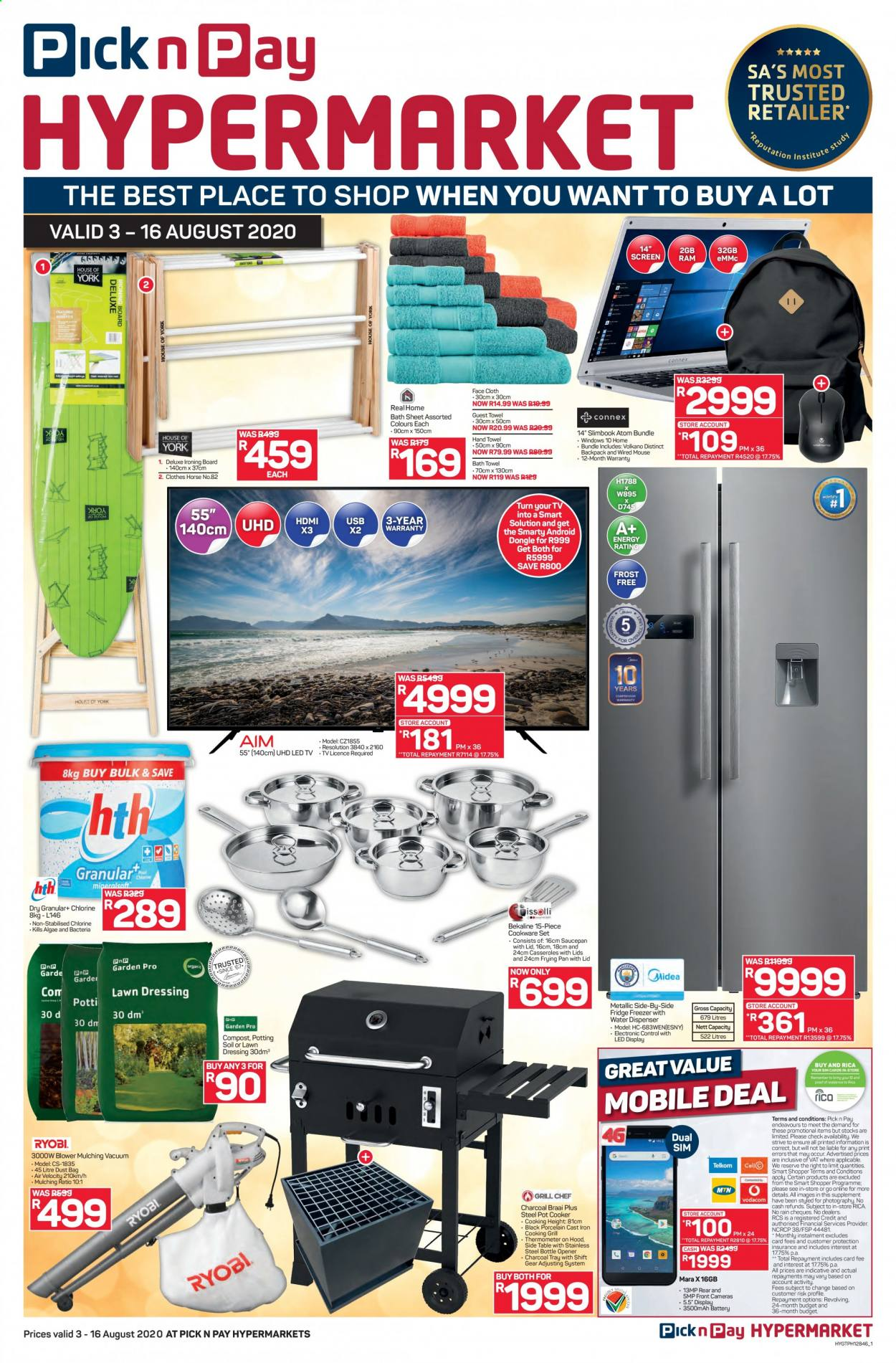 Pick n Pay catalogue  - 08.03.2020 - 08.16.2020. Page 1.