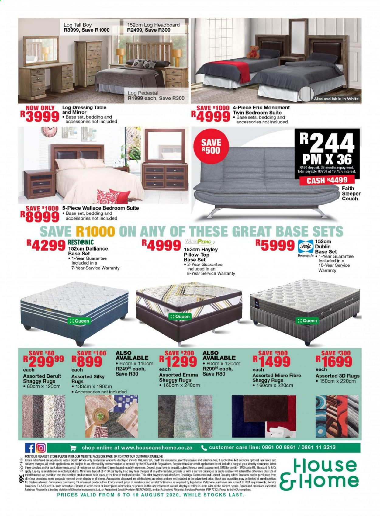 House & Home catalogue  - 08.06.2020 - 08.16.2020. Page 6.