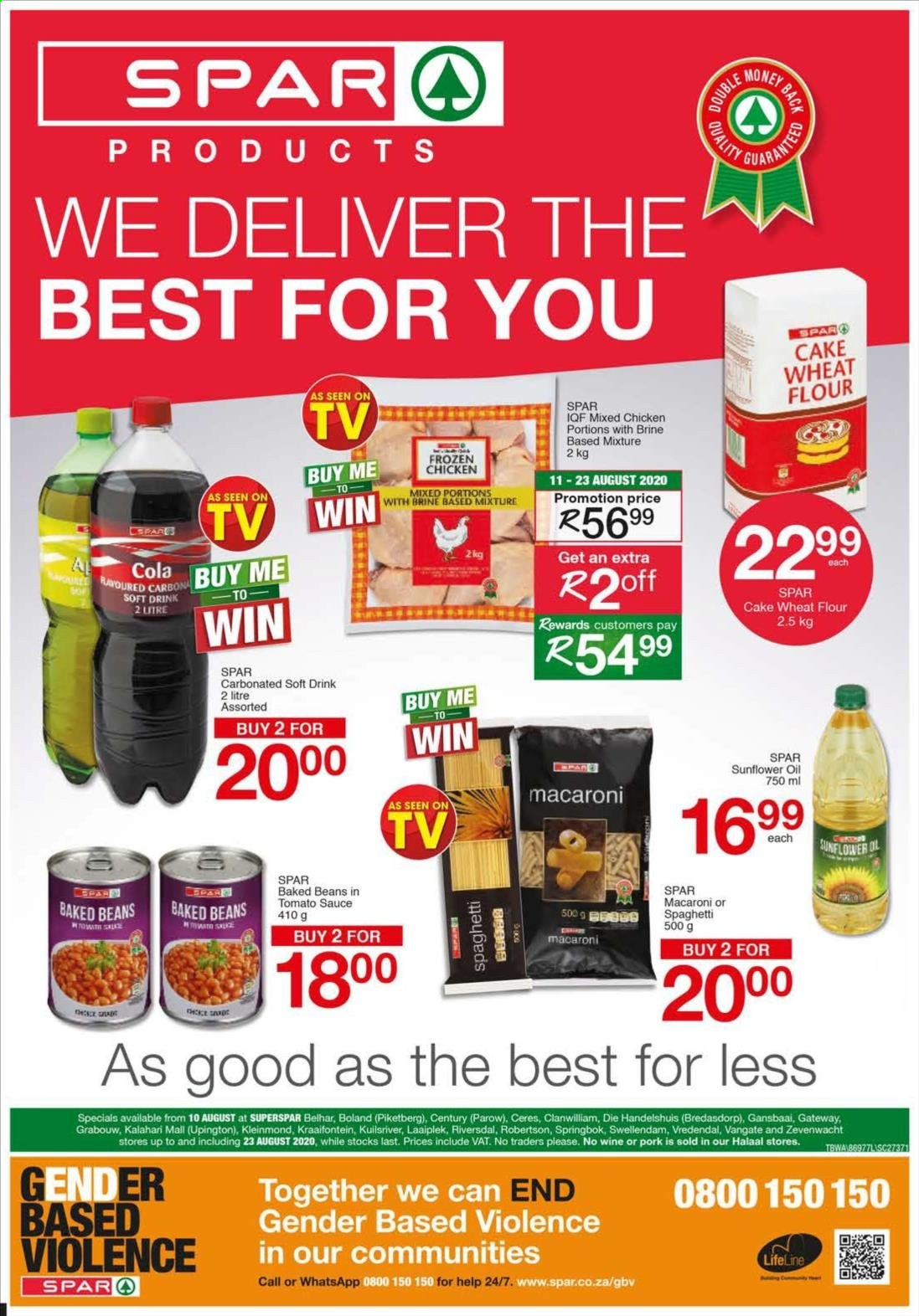 SPAR catalogue  - 08.10.2020 - 08.23.2020. Page 1.
