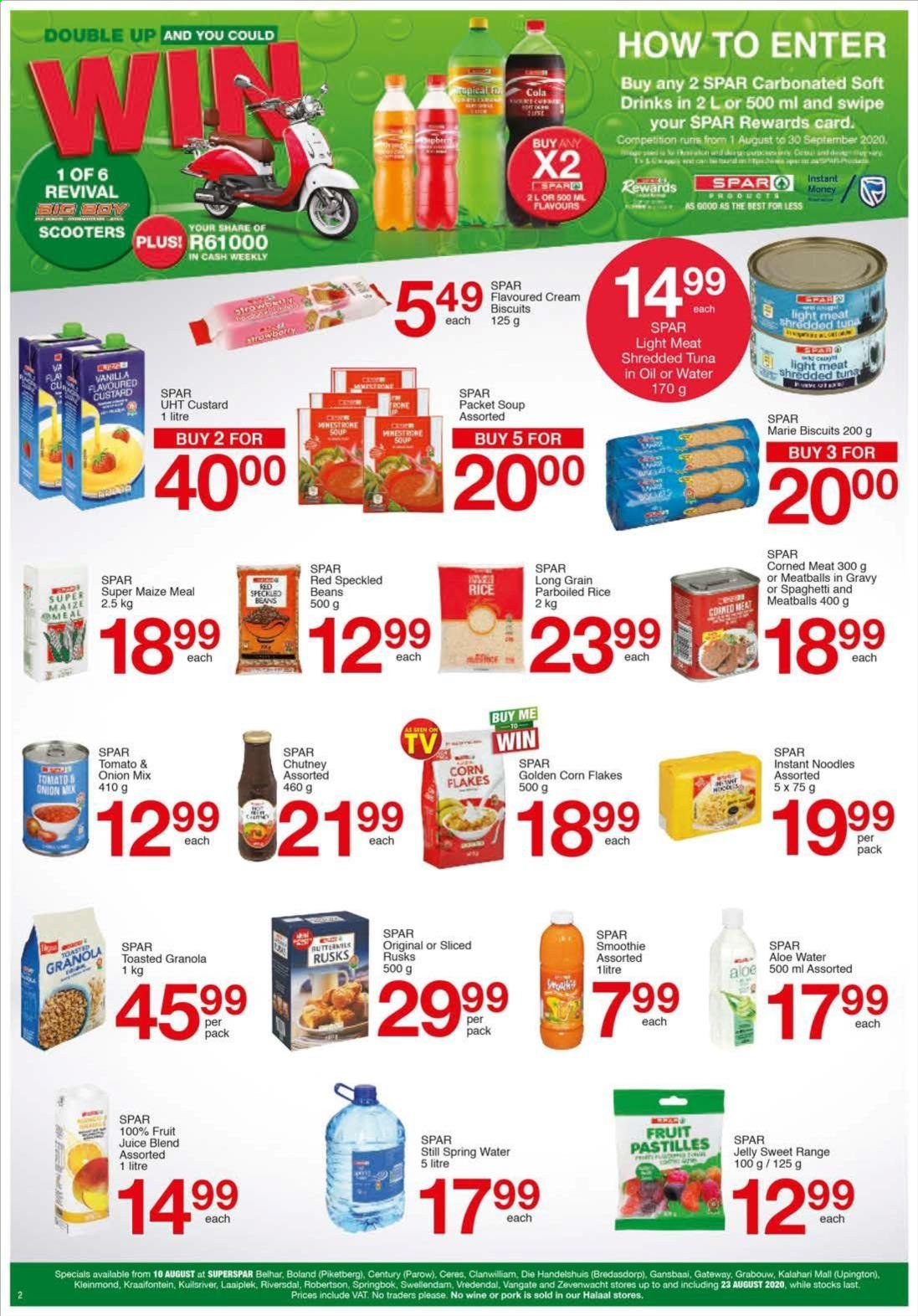 SPAR catalogue  - 08.10.2020 - 08.23.2020. Page 2.