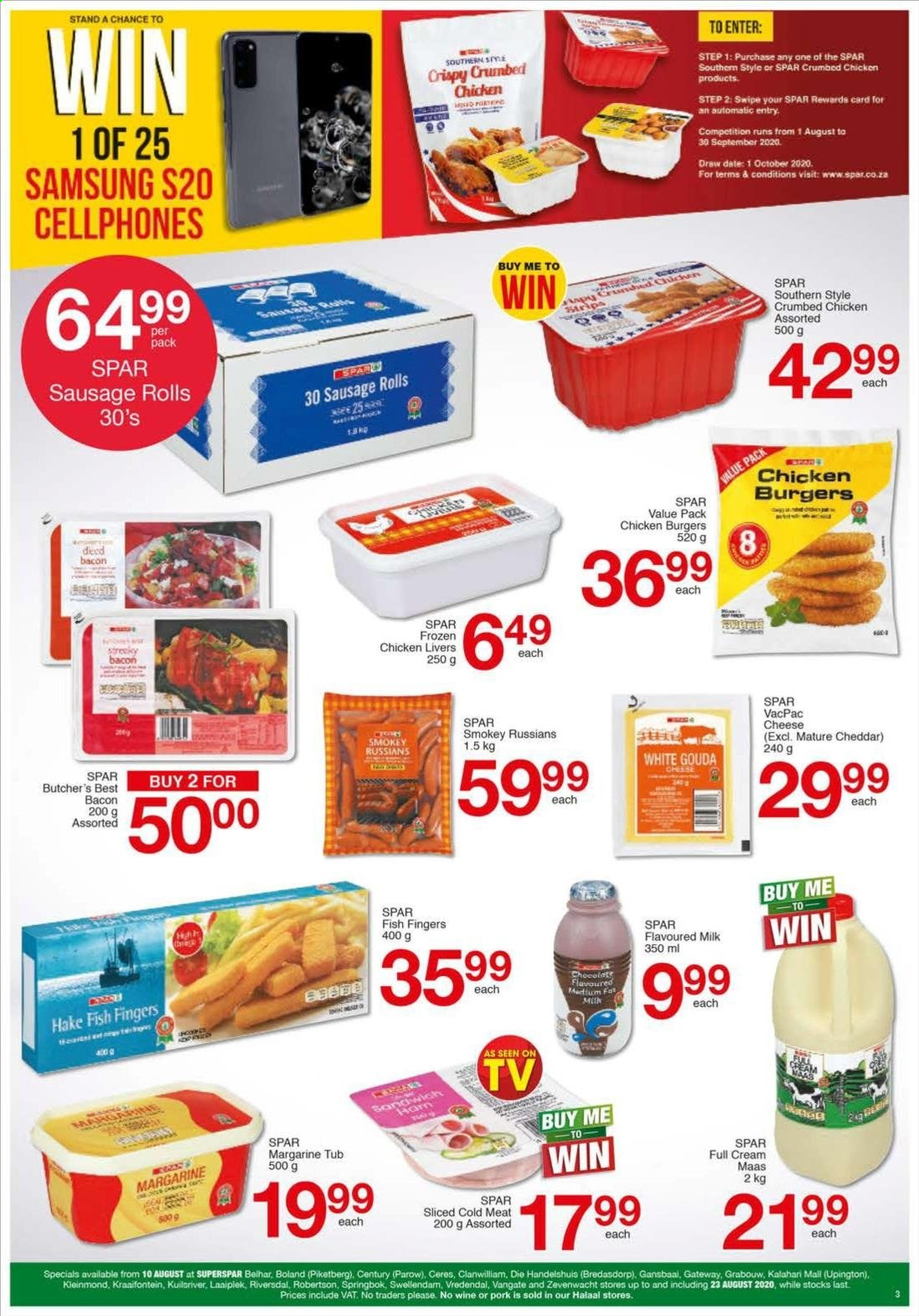 SPAR catalogue  - 08.10.2020 - 08.23.2020. Page 3.