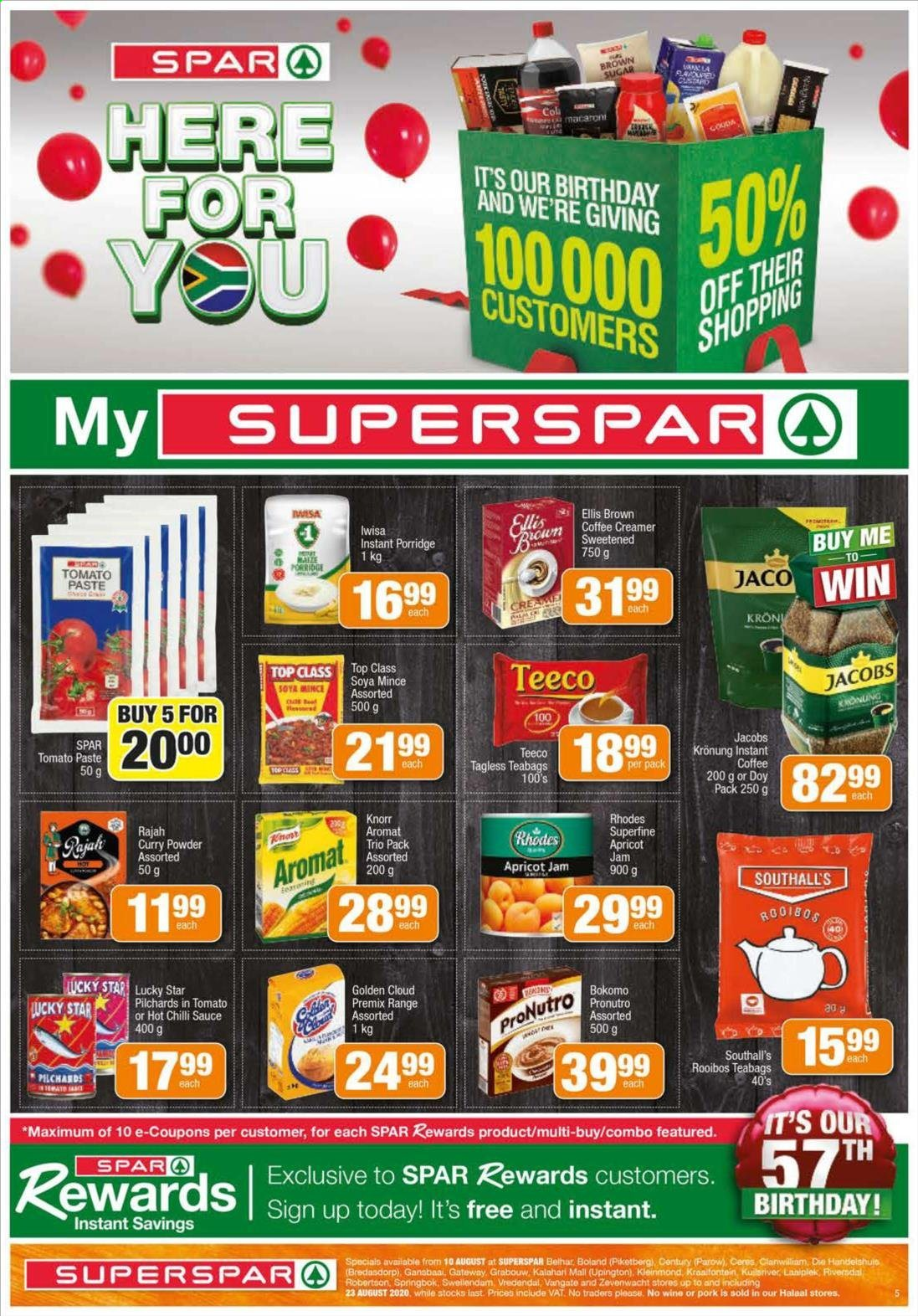 SPAR catalogue  - 08.10.2020 - 08.23.2020. Page 5.