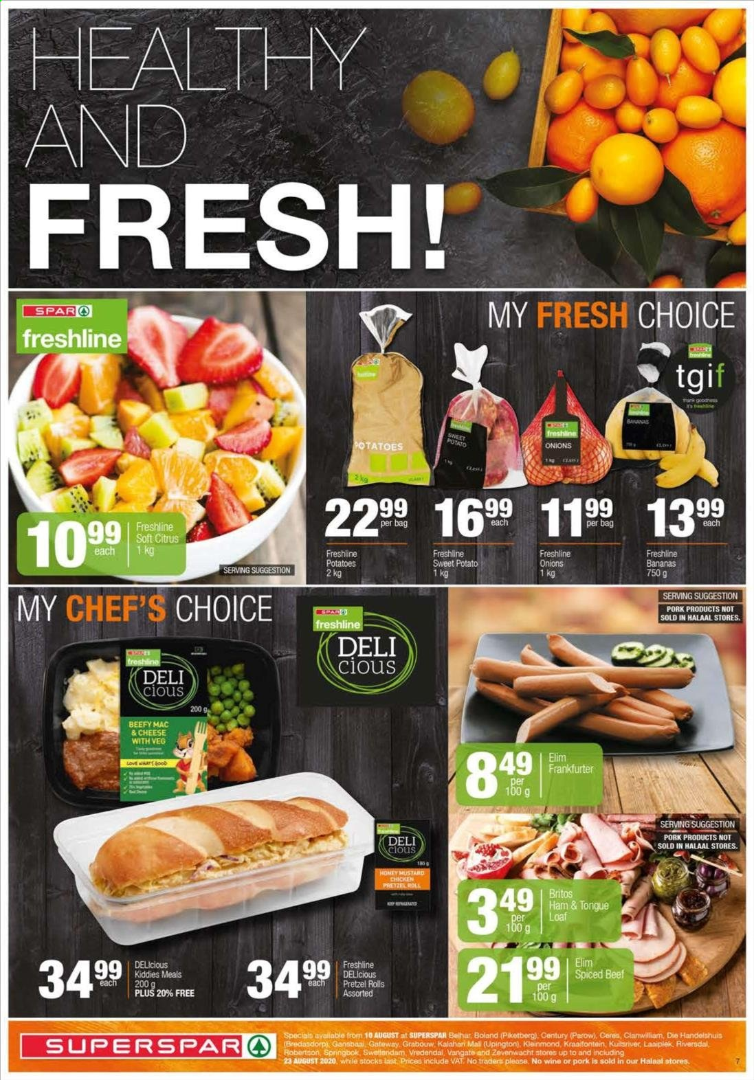 SPAR catalogue  - 08.10.2020 - 08.23.2020. Page 7.