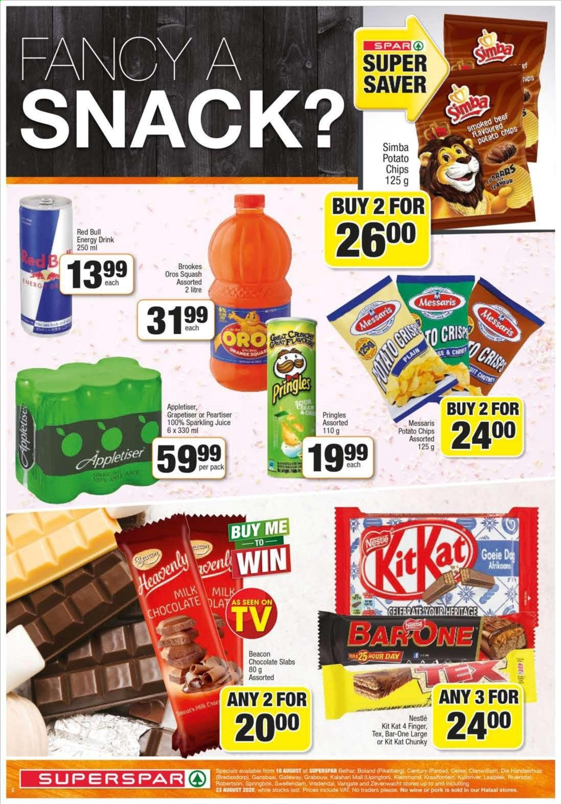 SPAR catalogue  - 08.10.2020 - 08.23.2020. Page 8.