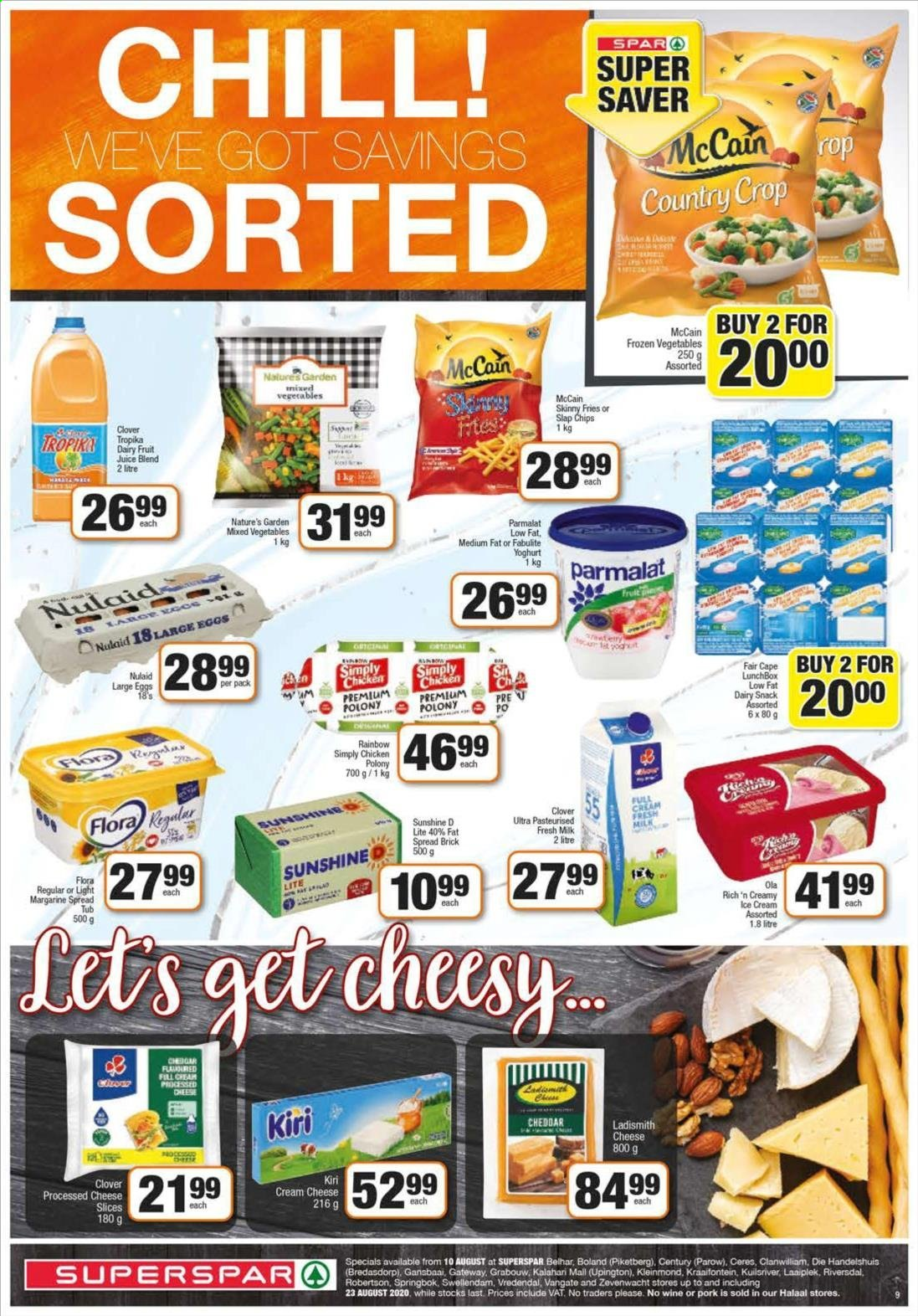 SPAR catalogue  - 08.10.2020 - 08.23.2020. Page 9.