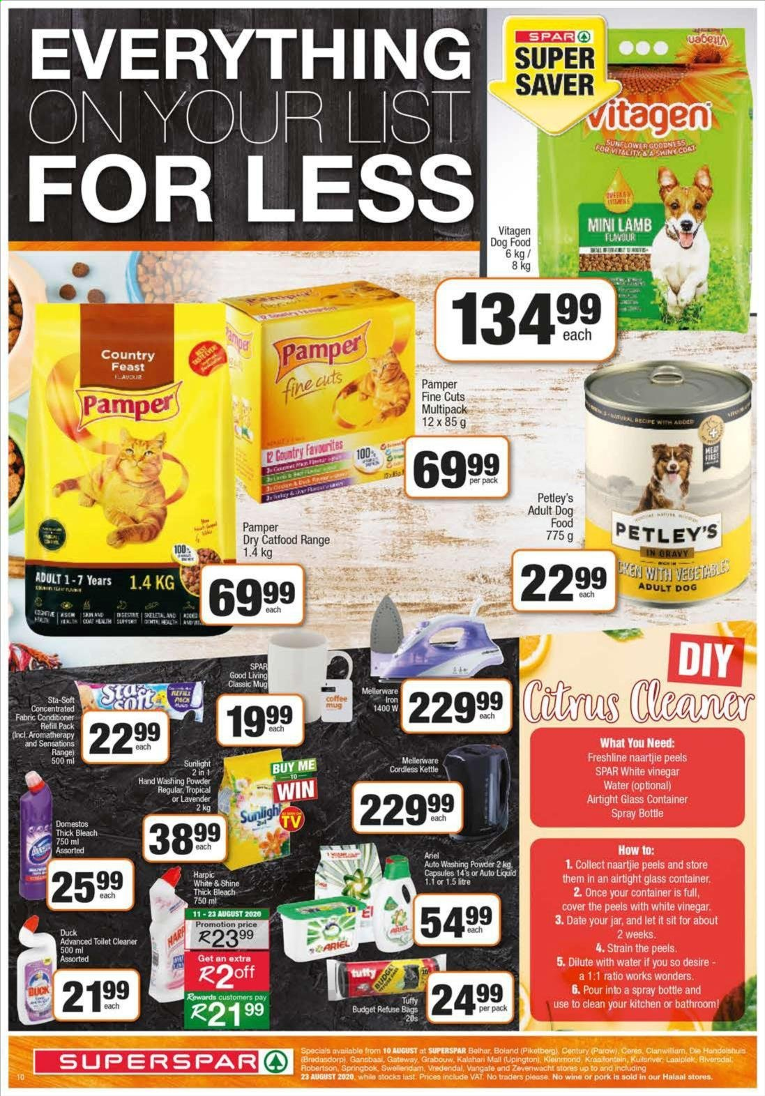 SPAR catalogue  - 08.10.2020 - 08.23.2020. Page 10.