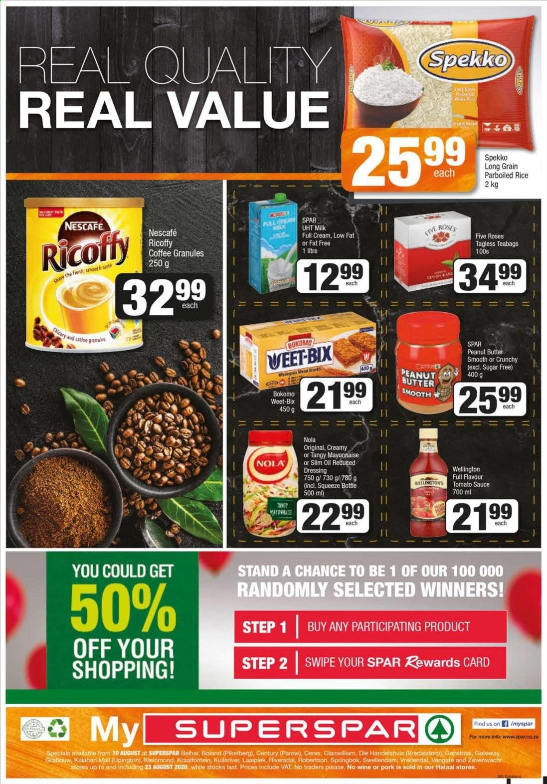 SPAR catalogue  - 08.10.2020 - 08.23.2020. Page 12.