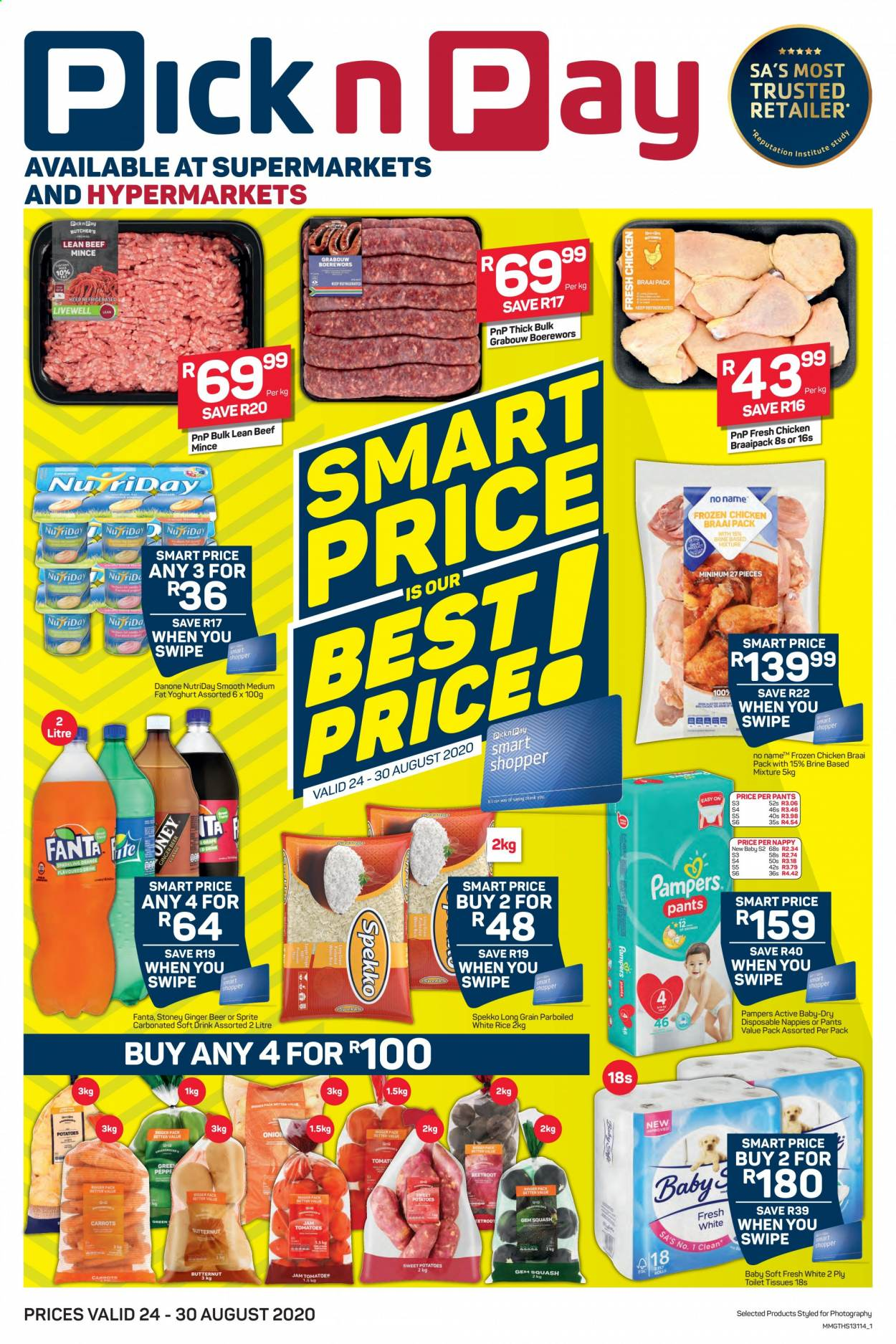Pick n Pay catalogue  - 08.24.2020 - 08.30.2020. Page 1.