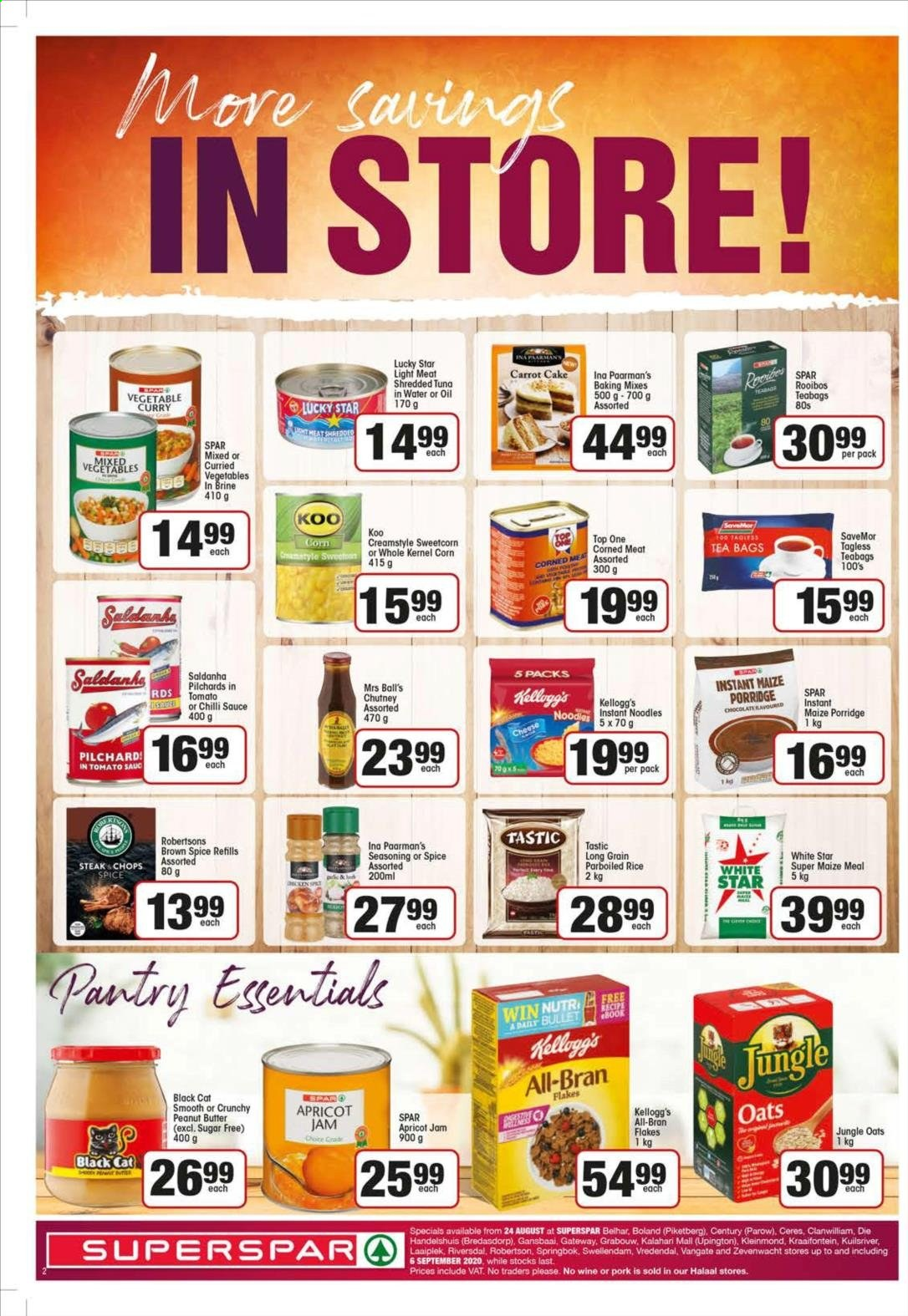 SPAR catalogue  - 08.24.2020 - 09.06.2020. Page 2.