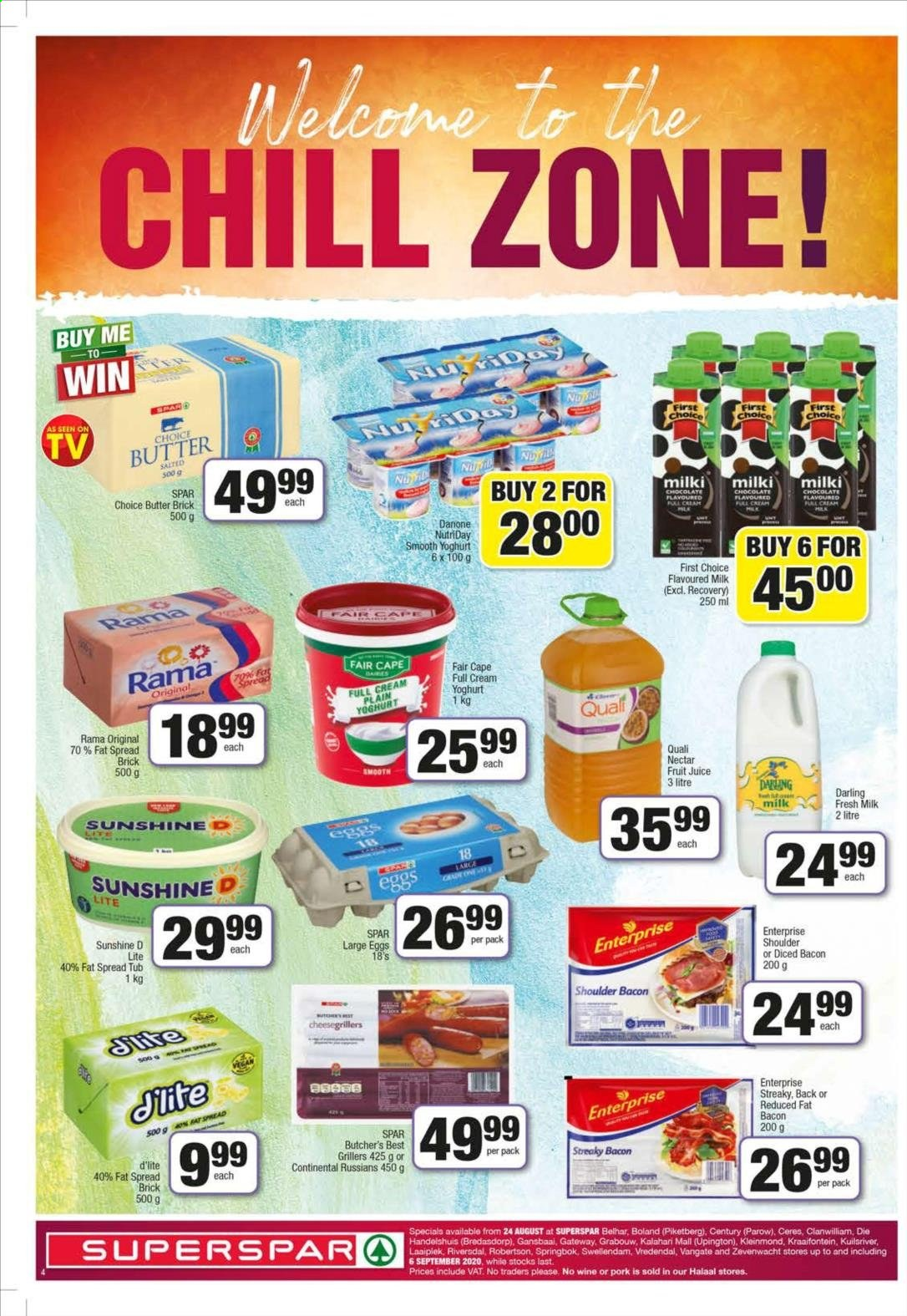 SPAR catalogue  - 08.24.2020 - 09.06.2020. Page 4.