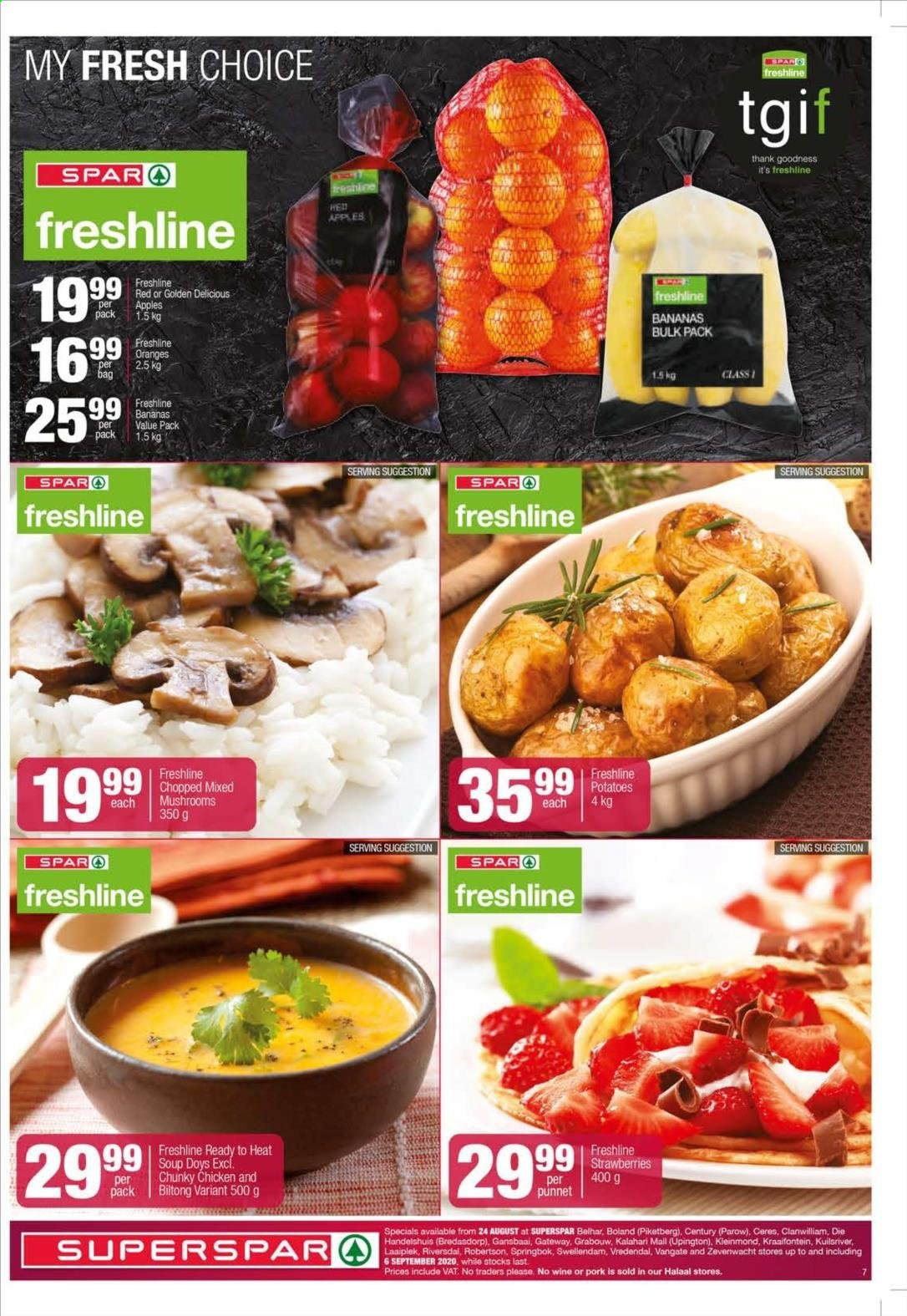 SPAR catalogue  - 08.24.2020 - 09.06.2020. Page 7.