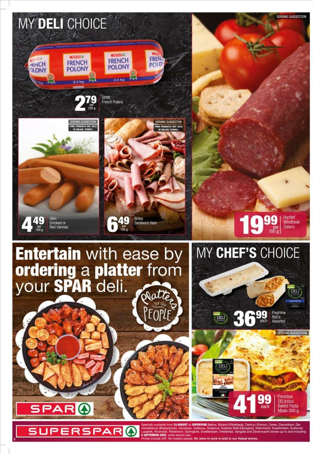 SPAR catalogue  - 08.24.2020 - 09.06.2020. Page 8.