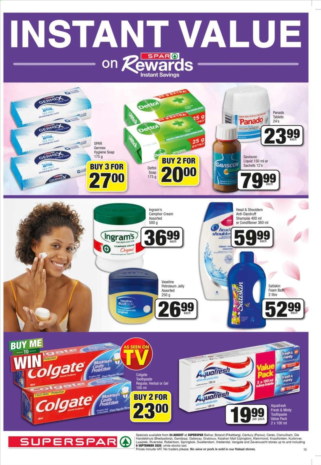 SPAR catalogue  - 08.24.2020 - 09.06.2020. Page 13.