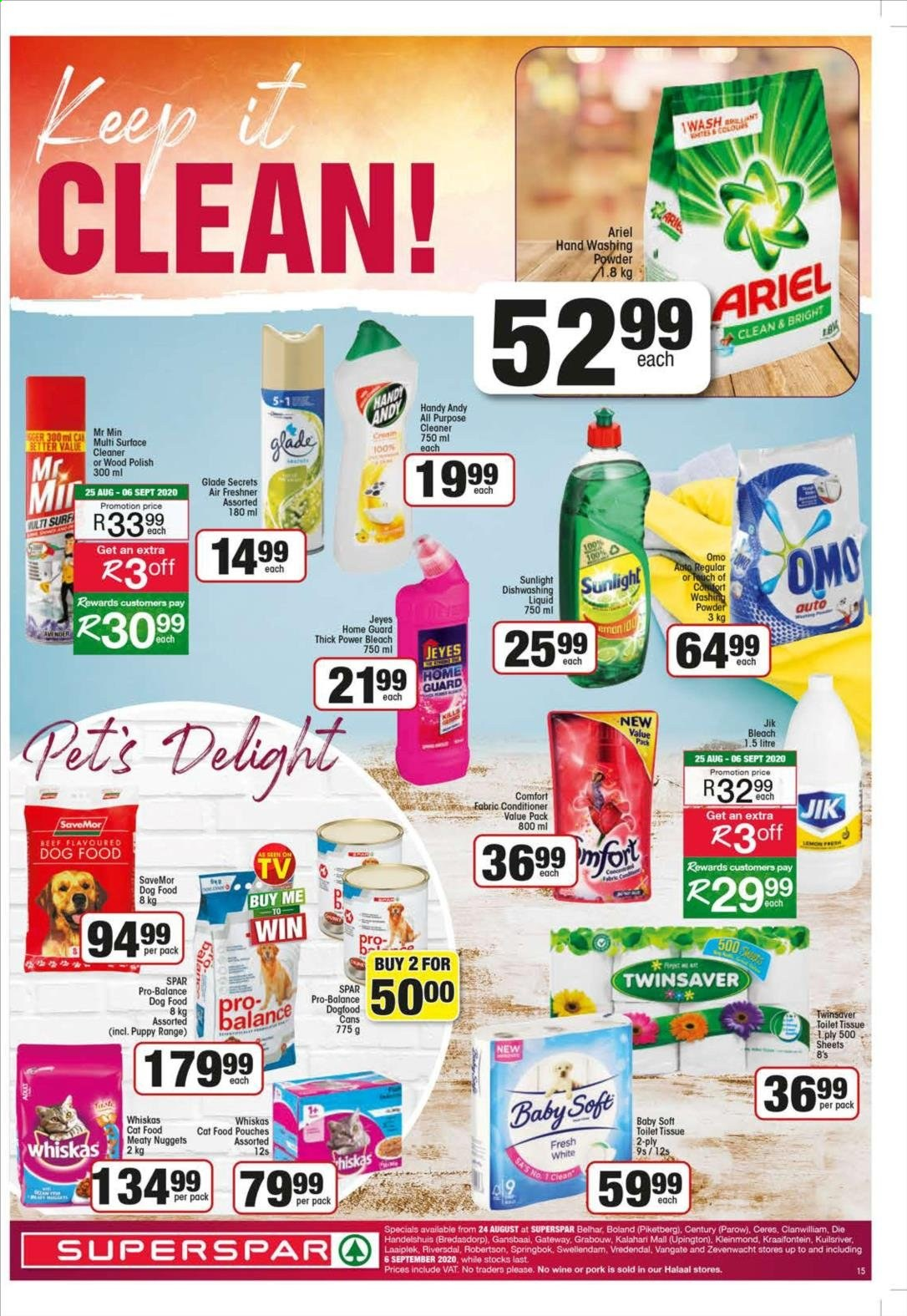 SPAR catalogue  - 08.24.2020 - 09.06.2020. Page 15.