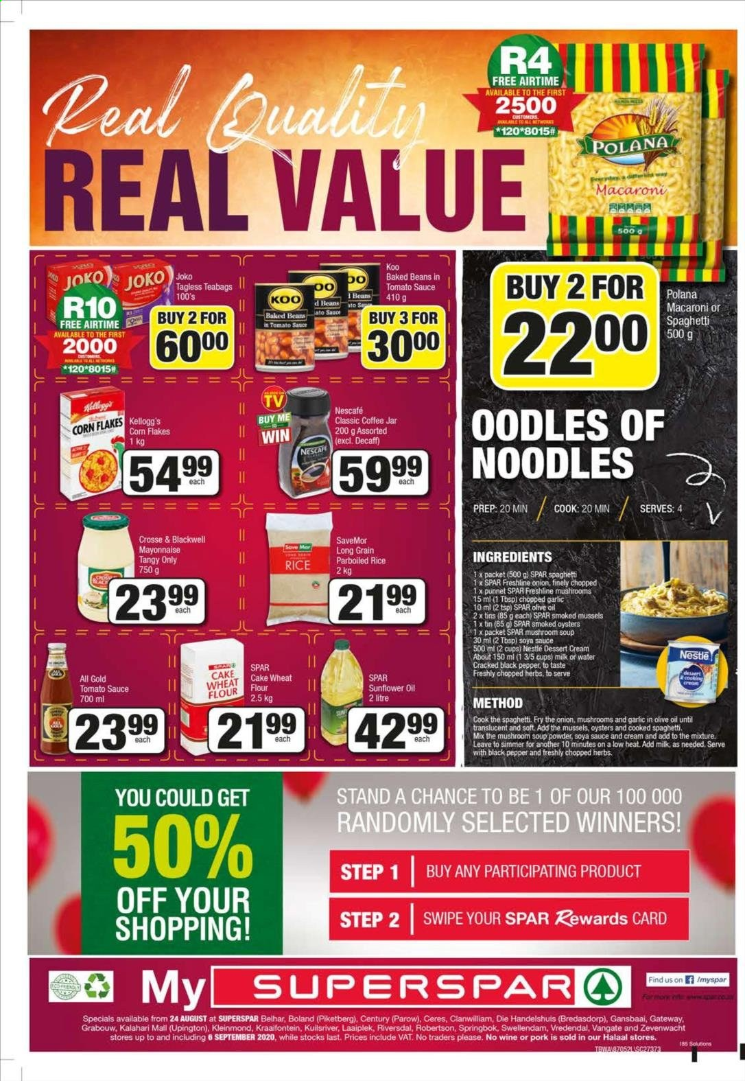 SPAR catalogue  - 08.24.2020 - 09.06.2020. Page 16.
