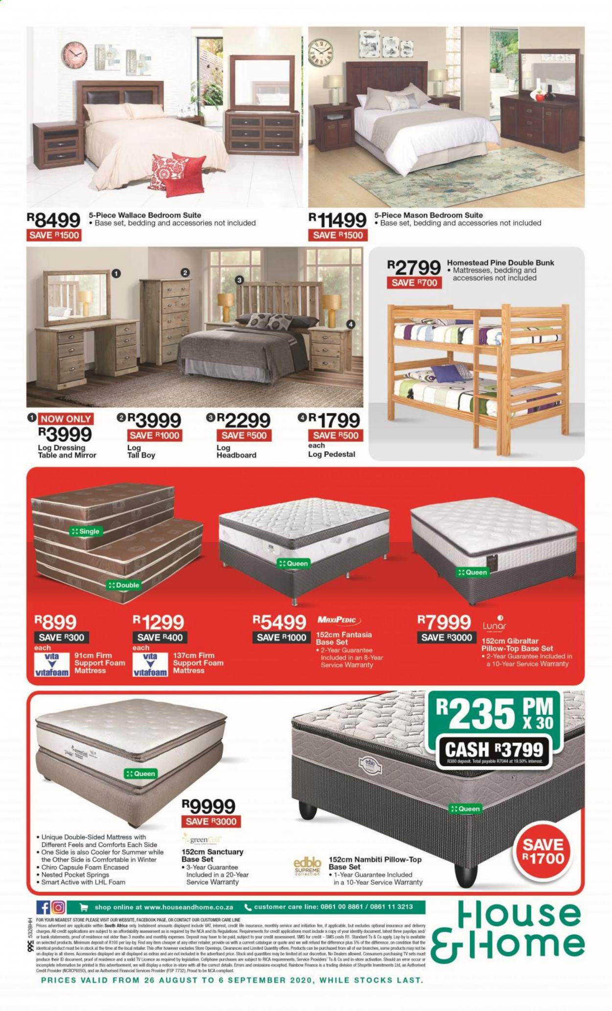 House & Home catalogue  - 08.26.2020 - 09.06.2020. Page 8.