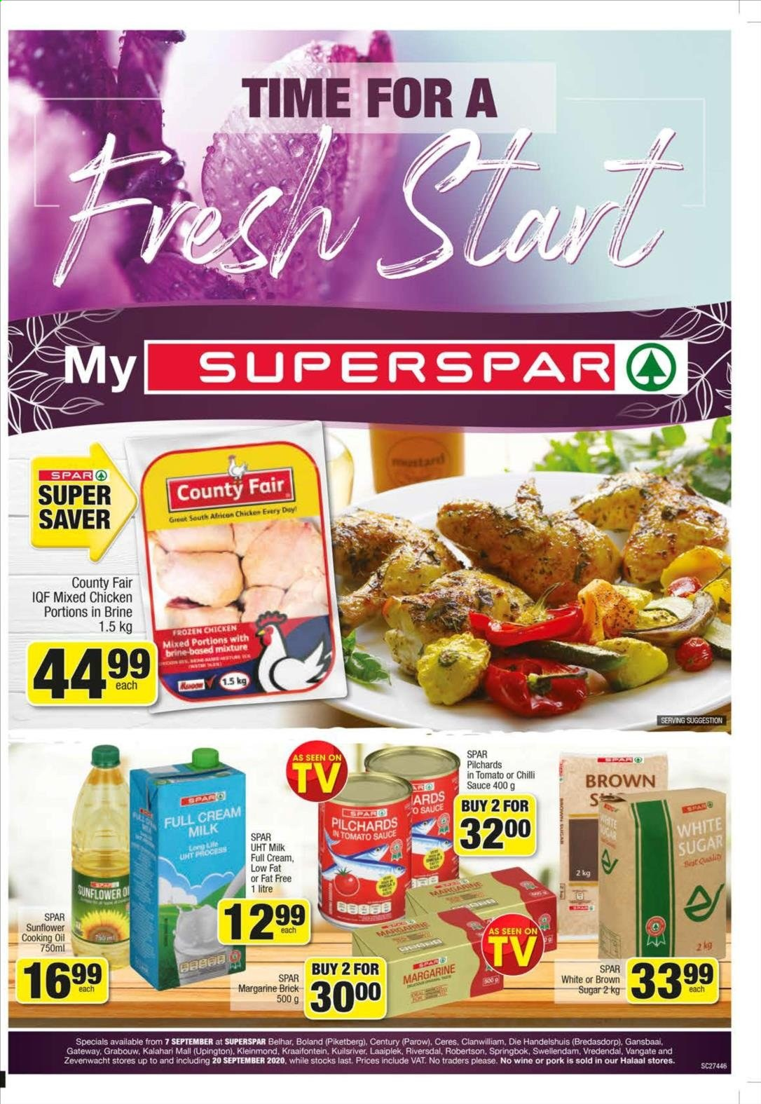 SPAR catalogue  - 09.07.2020 - 09.20.2020. Page 1.