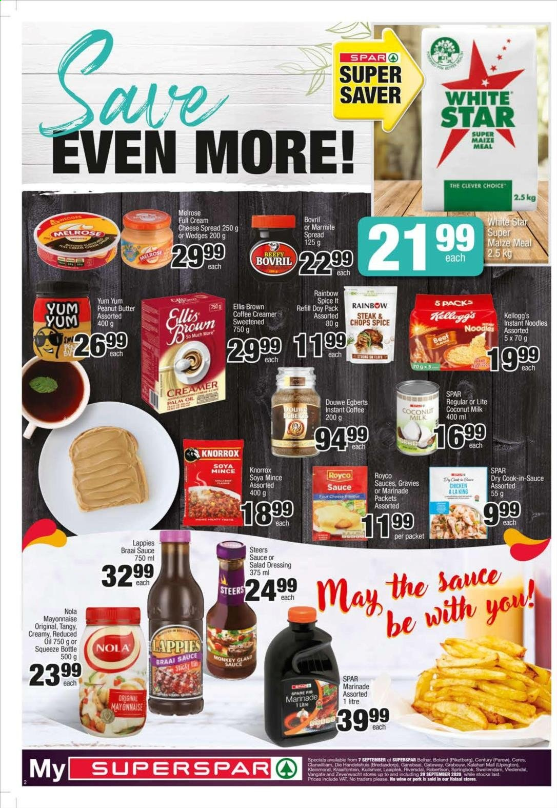SPAR catalogue  - 09.07.2020 - 09.20.2020. Page 2.