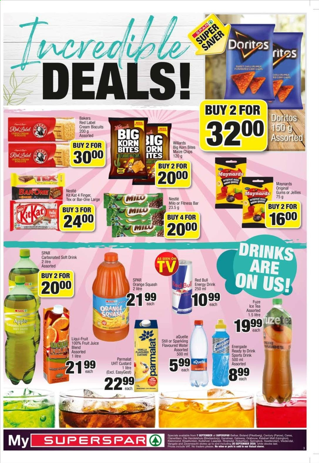 SPAR catalogue  - 09.07.2020 - 09.20.2020. Page 3.