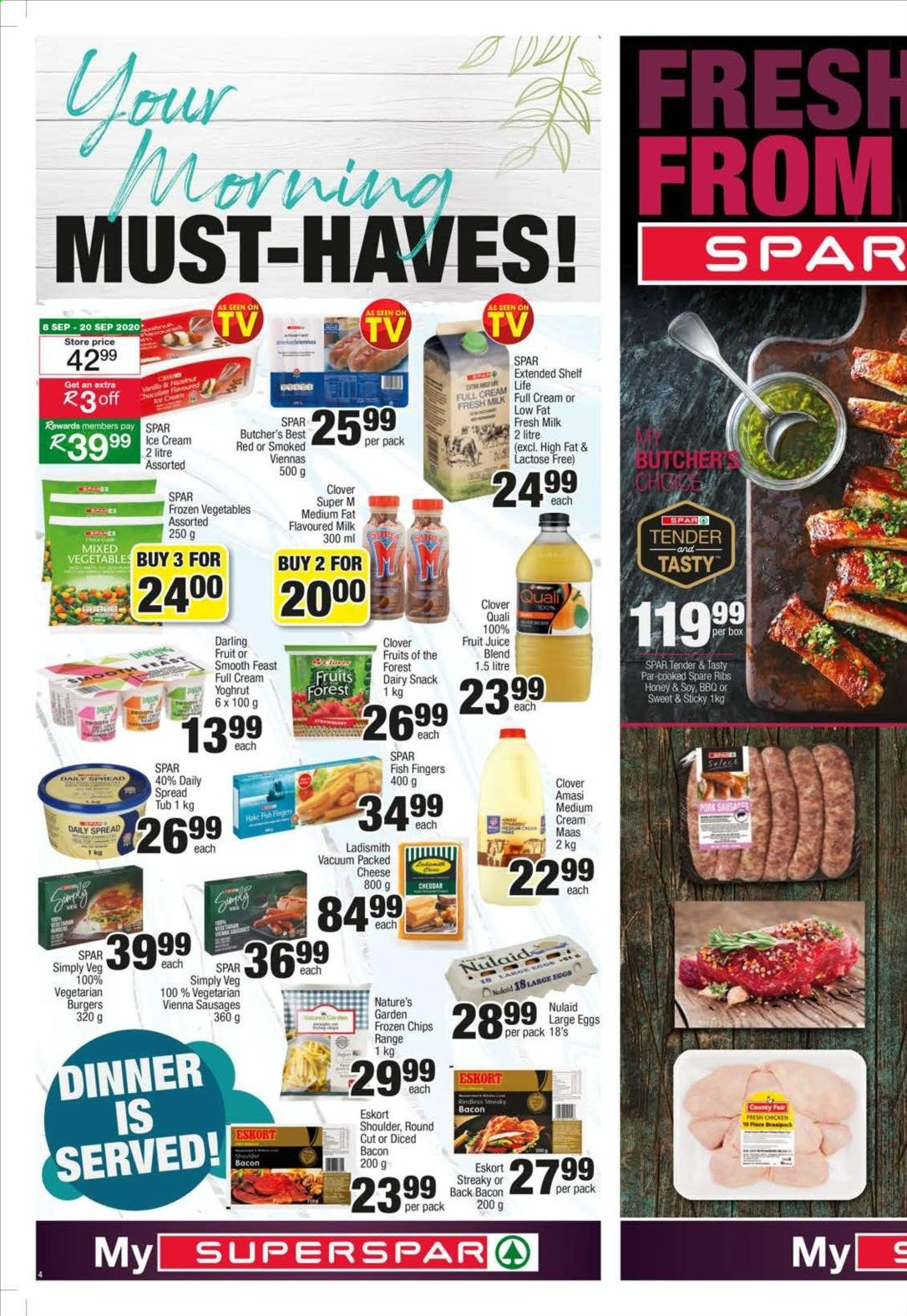 SPAR catalogue  - 09.07.2020 - 09.20.2020. Page 4.