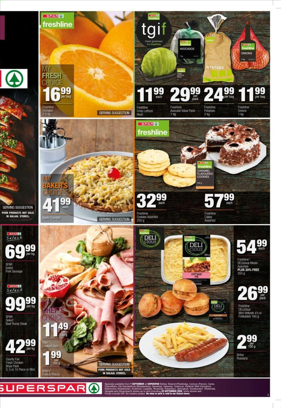 SPAR catalogue  - 09.07.2020 - 09.20.2020. Page 5.