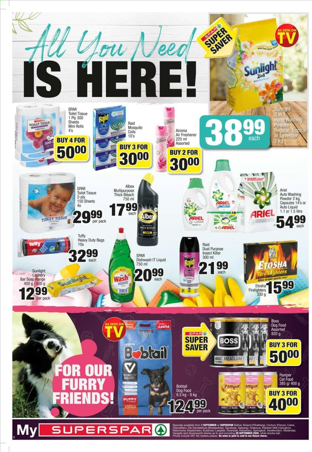 SPAR catalogue  - 09.07.2020 - 09.20.2020. Page 6.