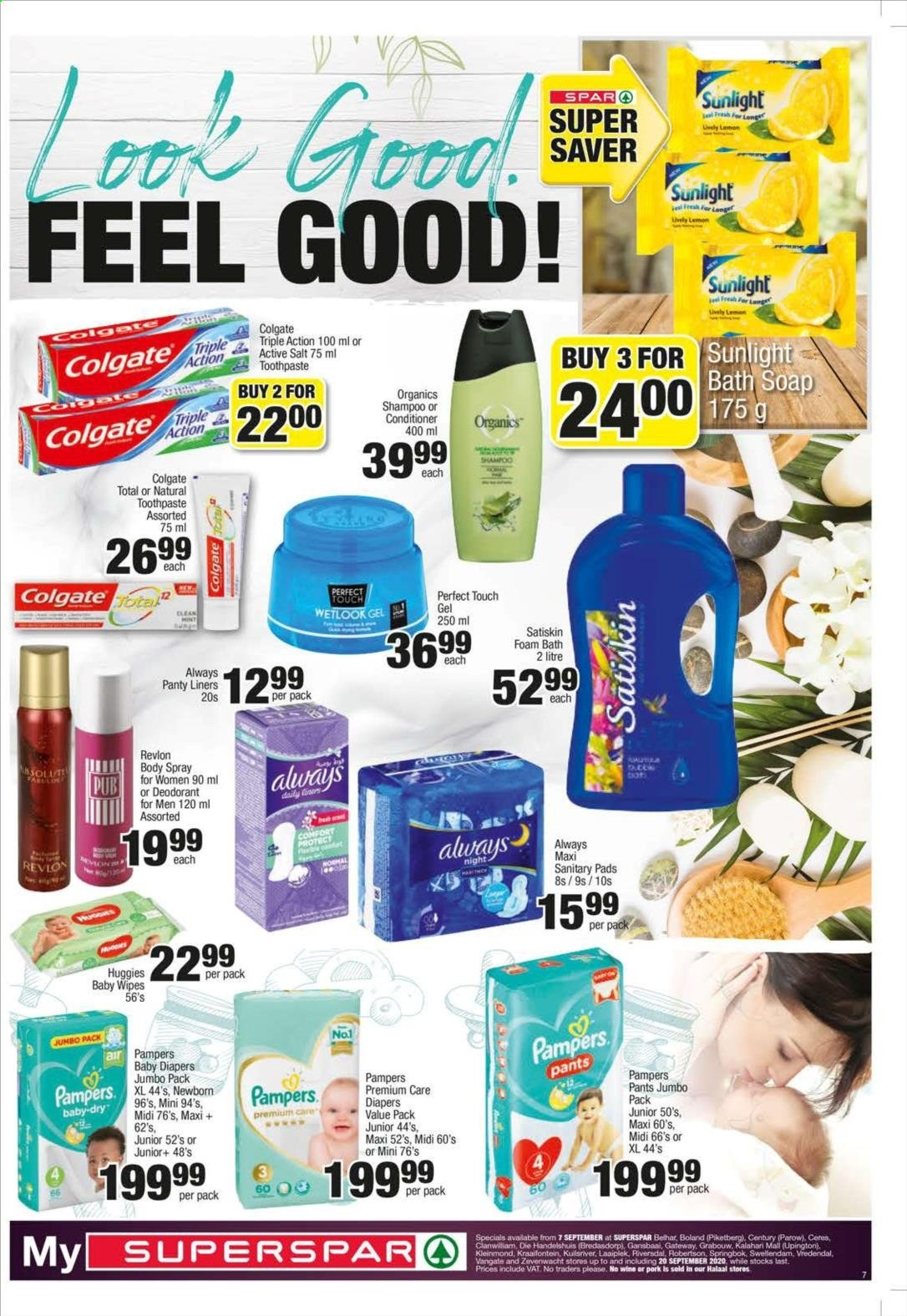 SPAR catalogue  - 09.07.2020 - 09.20.2020. Page 7.