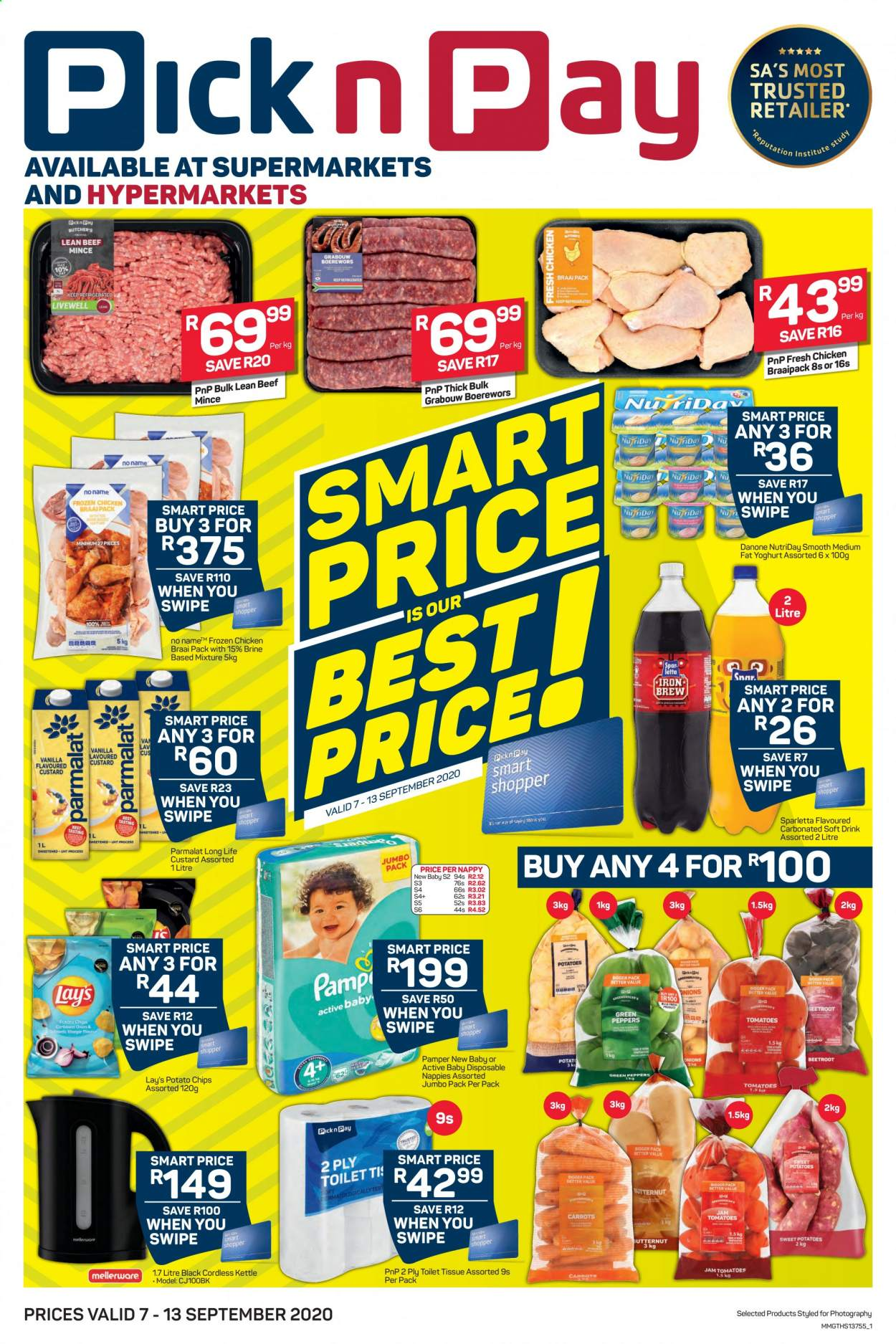 Pick n Pay catalogue  - 09.07.2020 - 09.13.2020. Page 1.