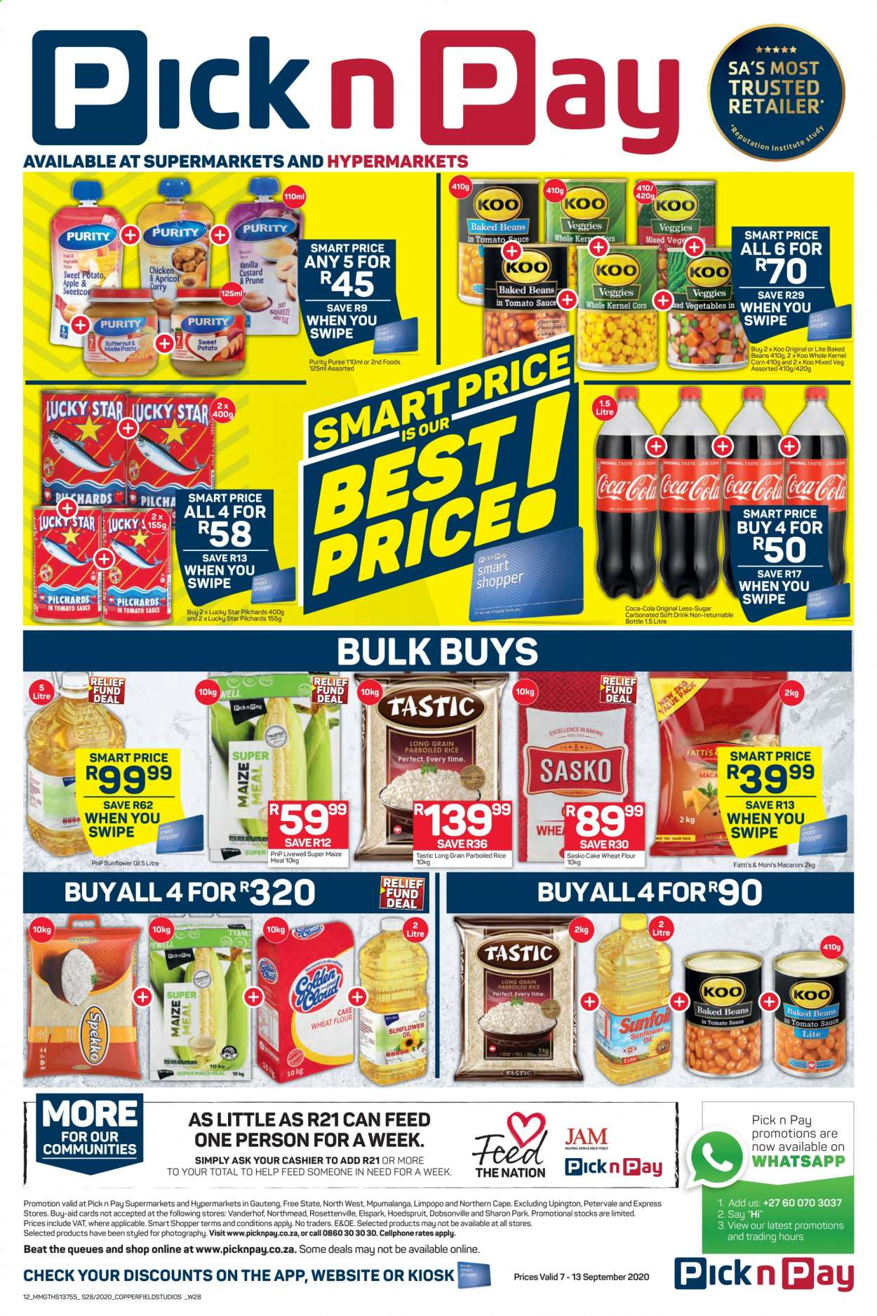 Pick n Pay catalogue  - 09.07.2020 - 09.13.2020. Page 12.
