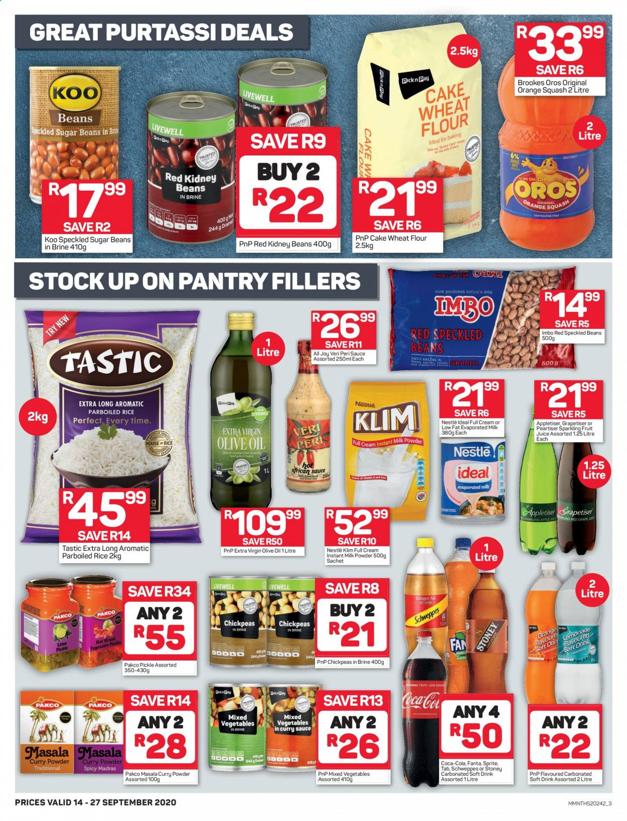 Pick n Pay catalogue  - 09.14.2020 - 09.27.2020. Page 3.