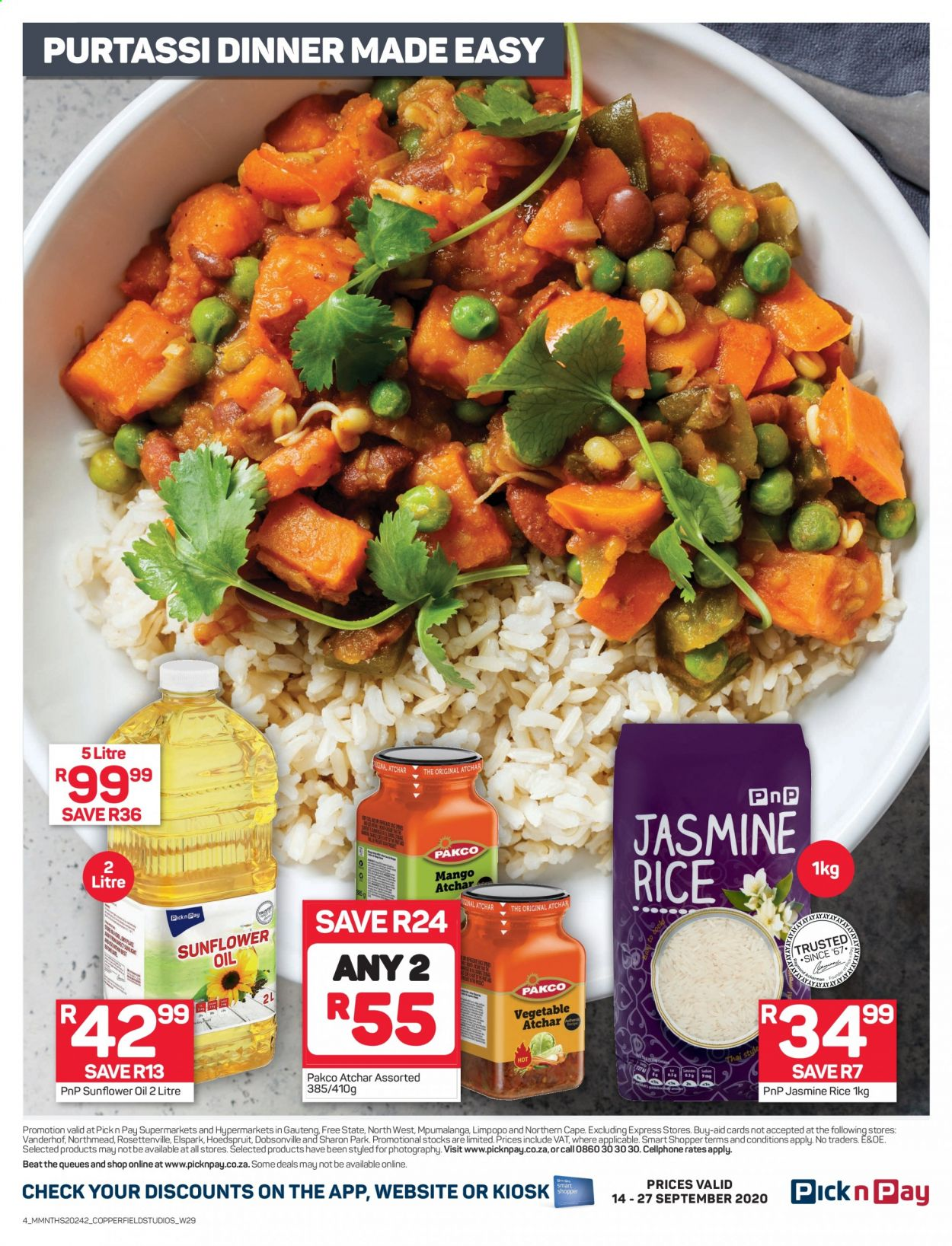 Pick n Pay catalogue  - 09.14.2020 - 09.27.2020. Page 4.