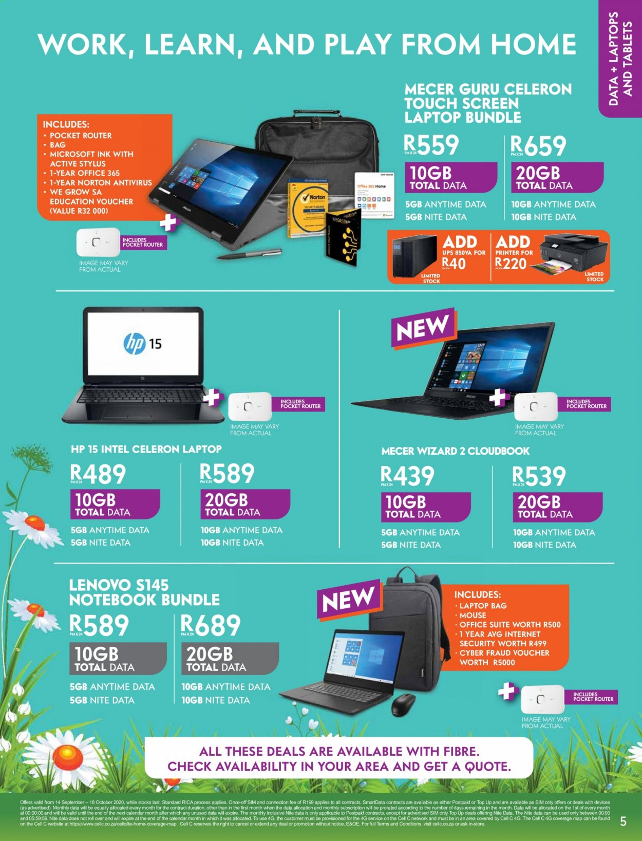 Cell C catalogue  - 09.14.2020 - 10.18.2020. Page 5.