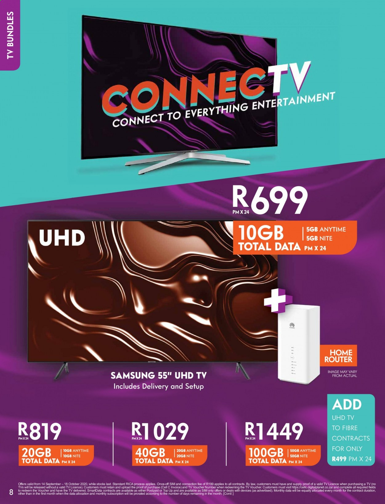 Cell C catalogue  - 09.14.2020 - 10.18.2020. Page 8.