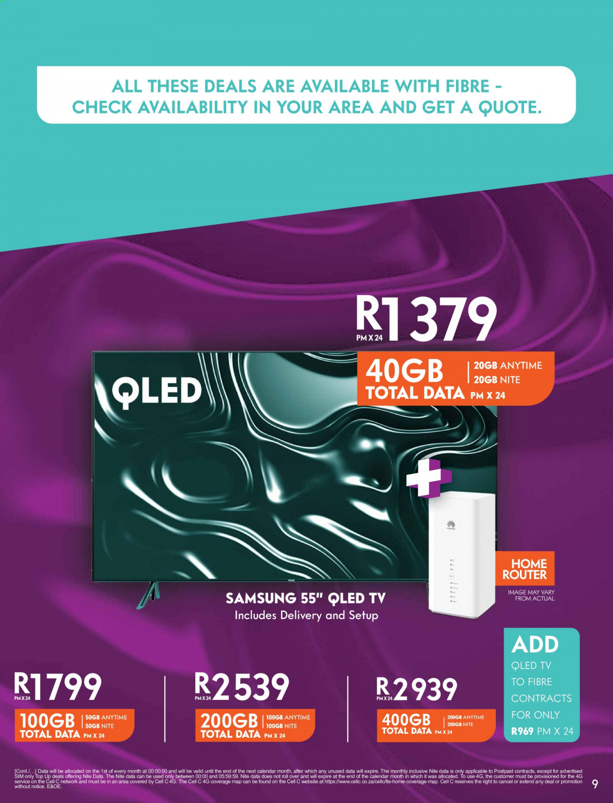 Cell C catalogue  - 09.14.2020 - 10.18.2020. Page 9.