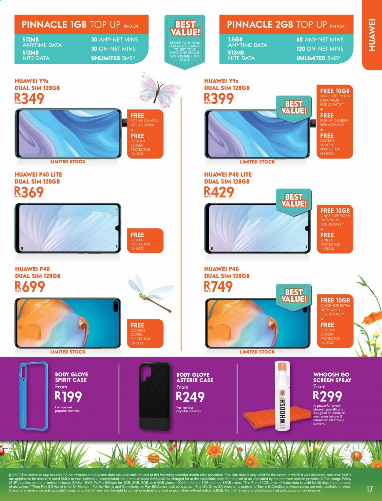 Cell C catalogue  - 09.14.2020 - 10.18.2020. Page 17.