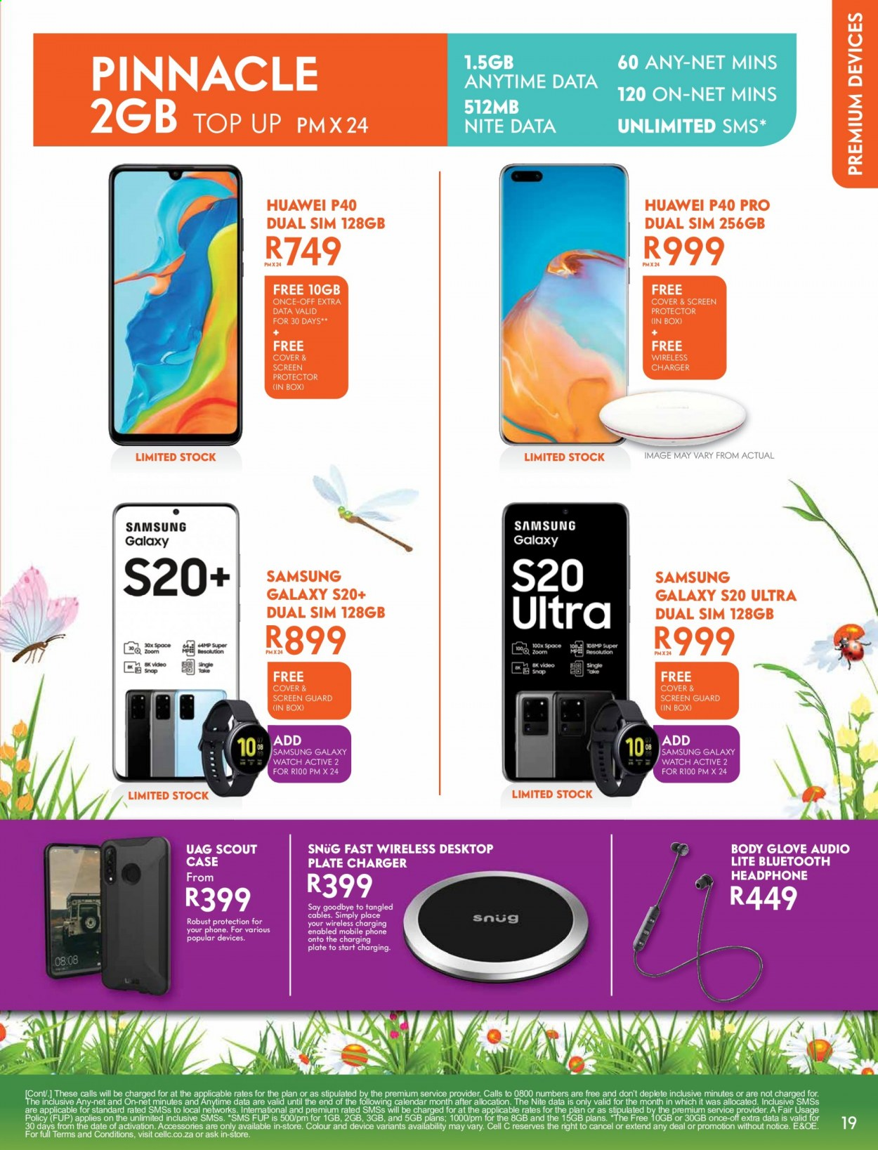 Cell C catalogue  - 09.14.2020 - 10.18.2020. Page 19.