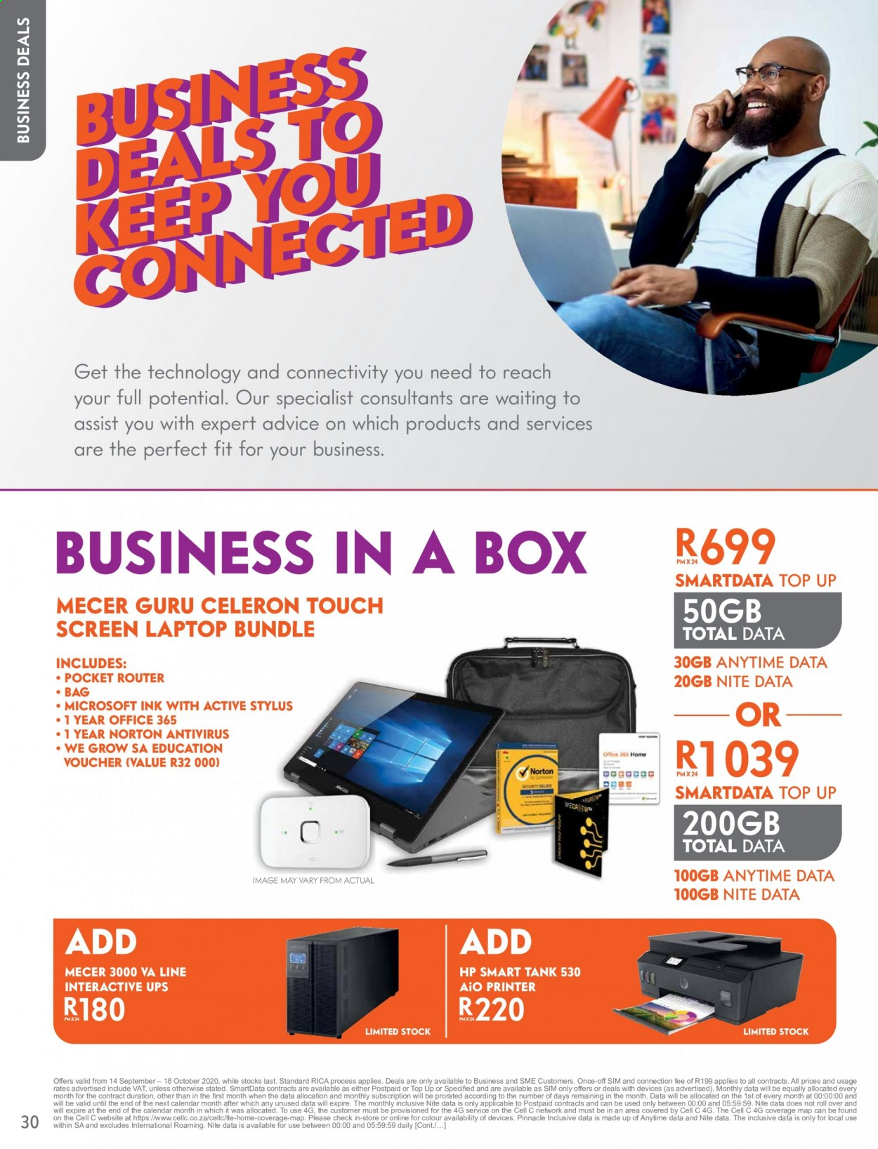 Cell C catalogue  - 09.14.2020 - 10.18.2020. Page 30.