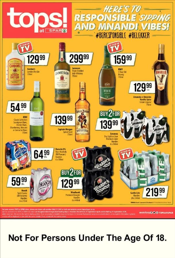 SPAR catalogue  - 09.22.2020 - 09.28.2020. Page 1.
