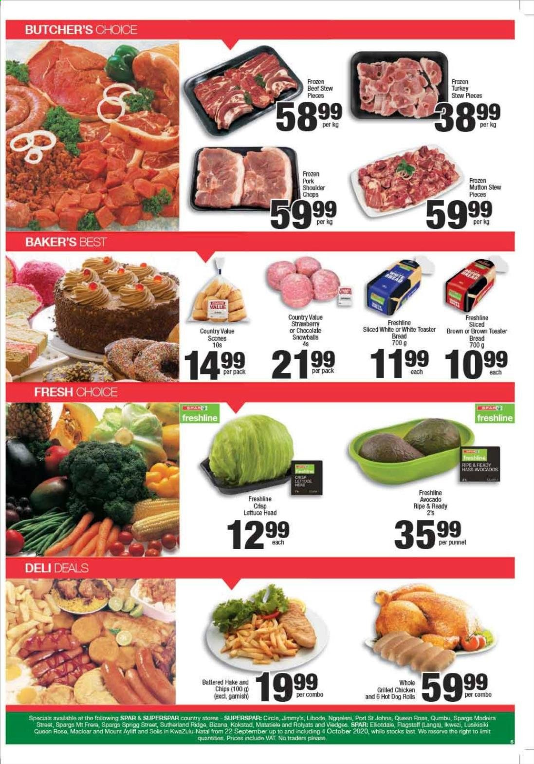 SPAR catalogue  - 09.22.2020 - 09.28.2020. Page 6.