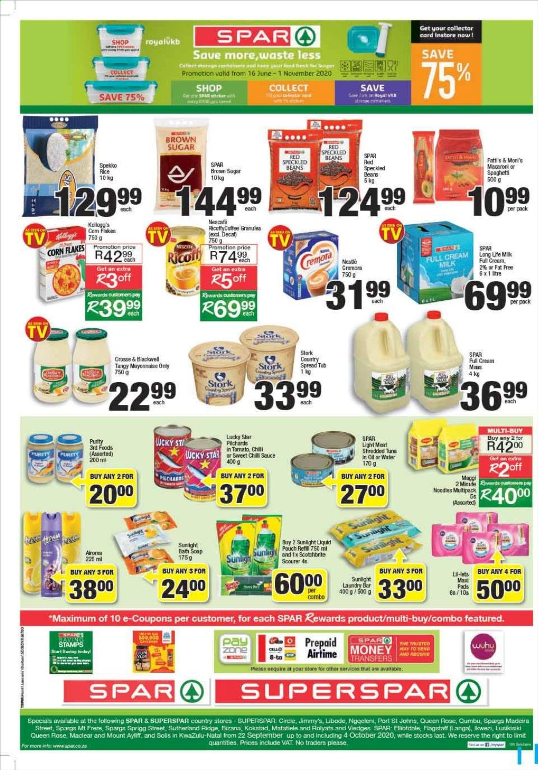 SPAR catalogue  - 09.22.2020 - 09.28.2020. Page 9.